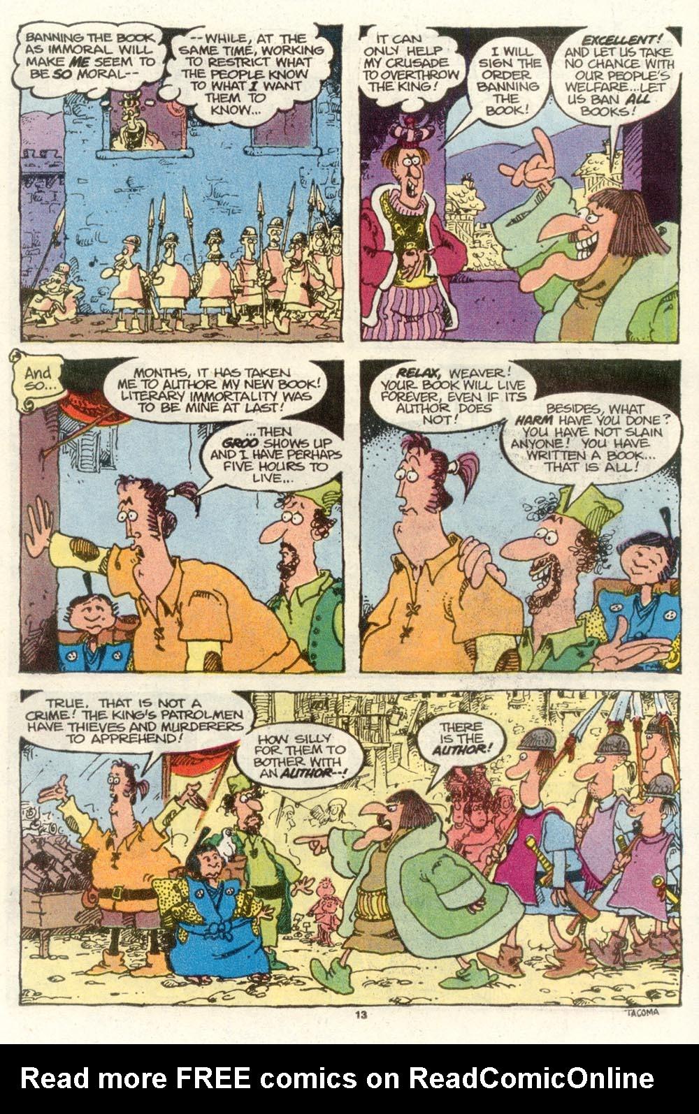 Read online Sergio Aragonés Groo the Wanderer comic -  Issue #78 - 9