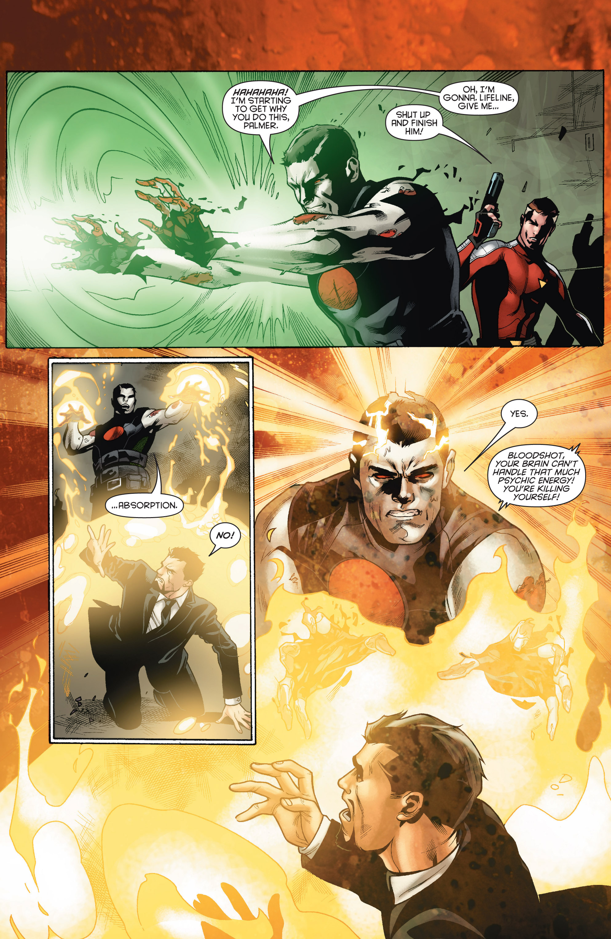 Read online Bloodshot and H.A.R.D.Corps comic -  Issue # TPB 4 - 72