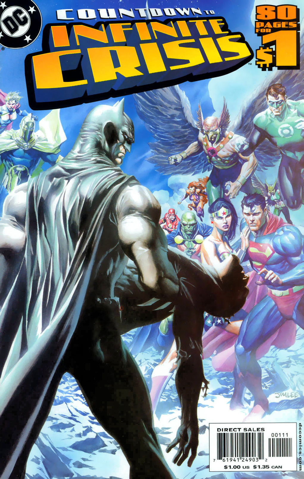 Countdown to Infinite Crisis Full Page 1