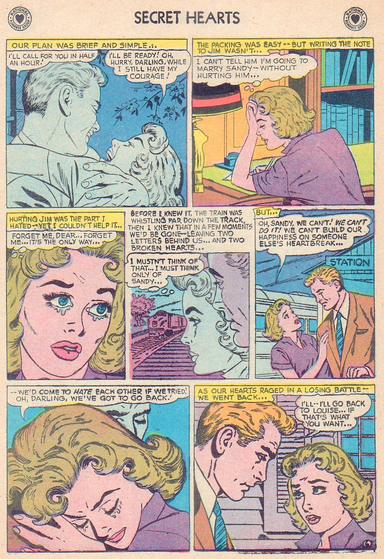 Read online Secret Hearts comic -  Issue #44 - 24
