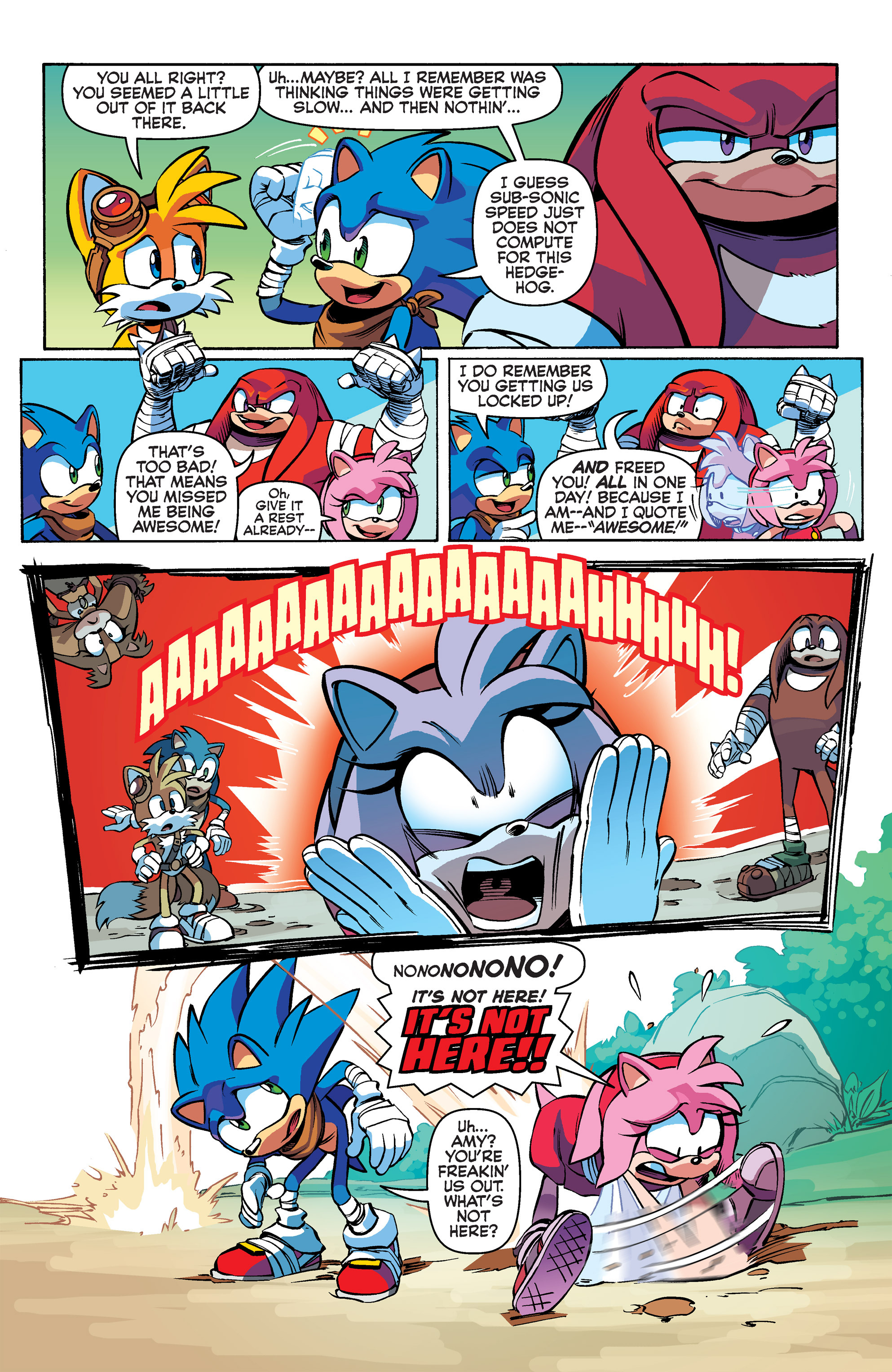 Read online Sonic Boom comic -  Issue #2 - 21
