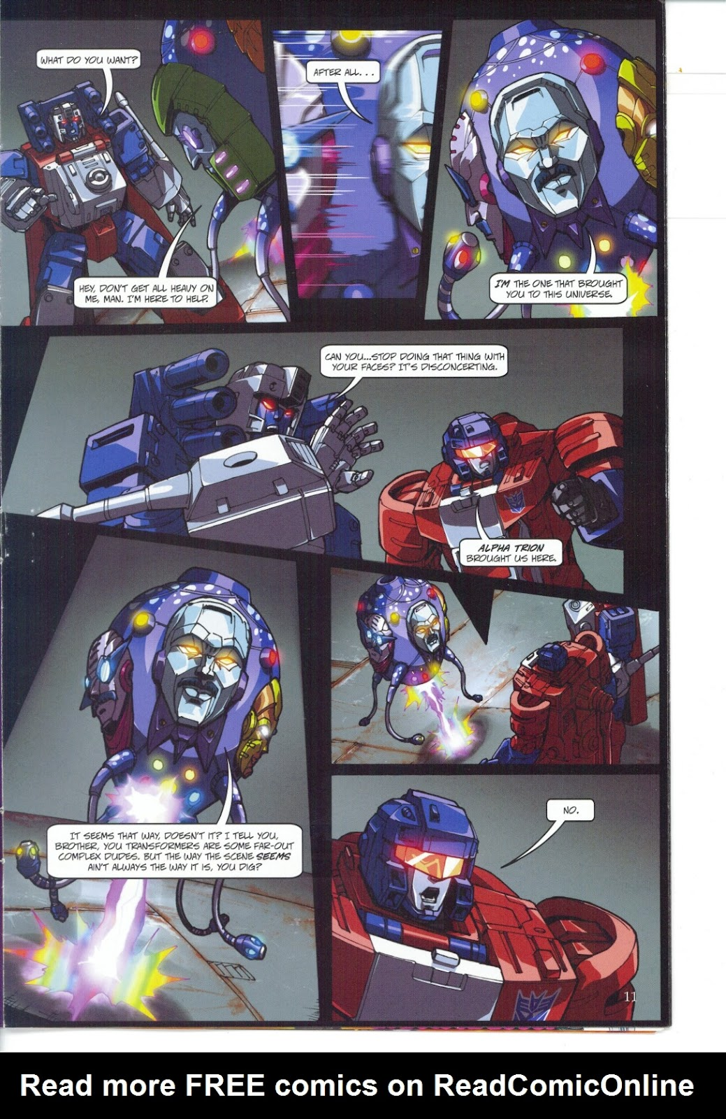 Read online Transformers: Collectors' Club comic -  Issue #27 - 11