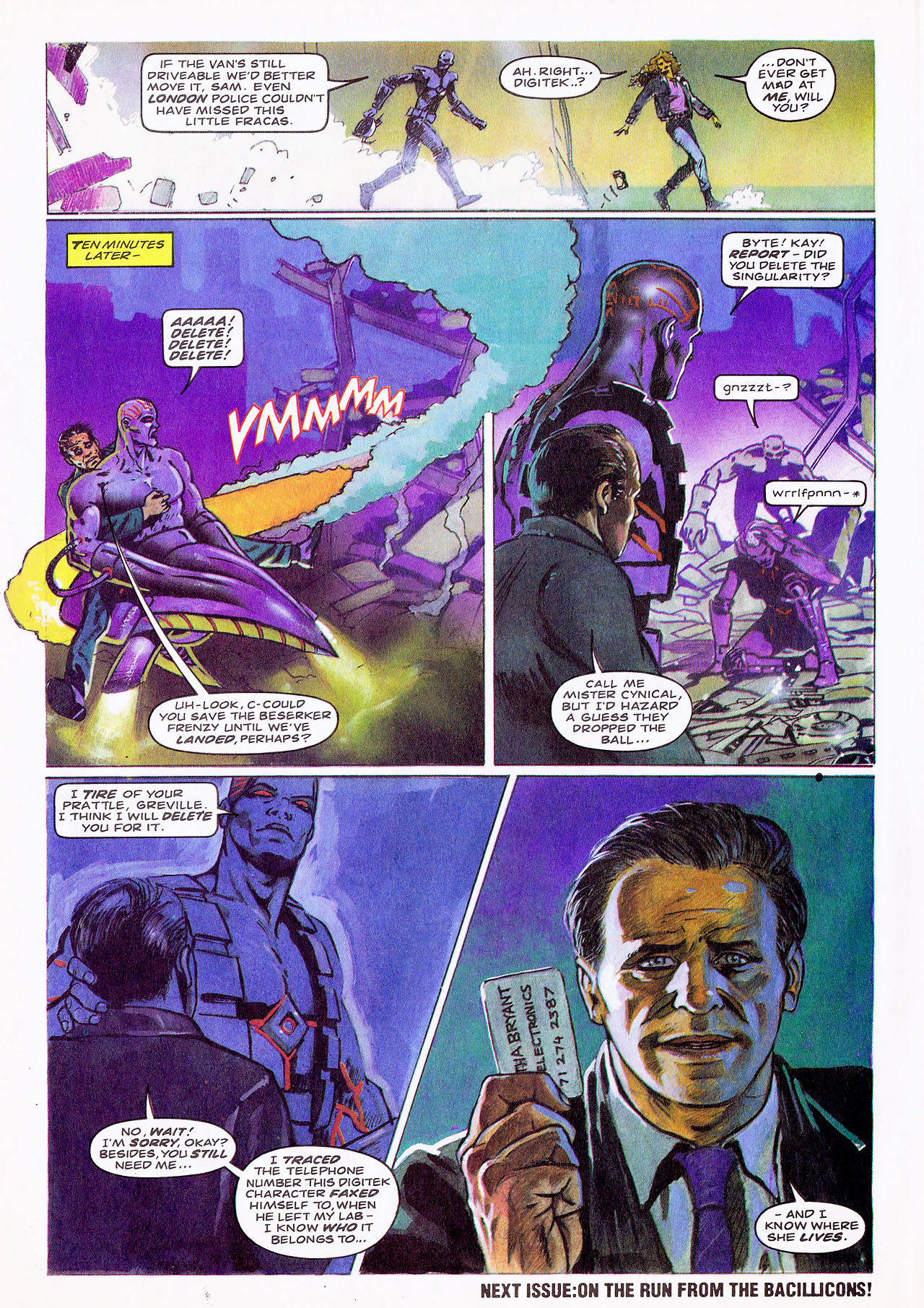 Read online Overkill comic -  Issue #12 - 25