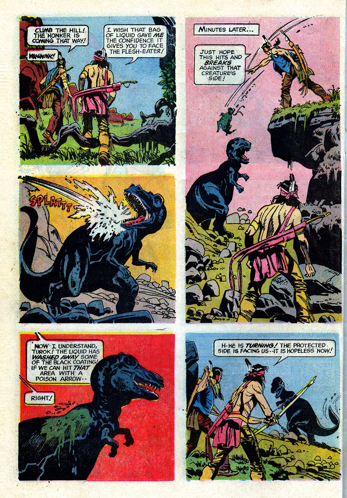 Read online Turok, Son of Stone comic -  Issue #72 - 30