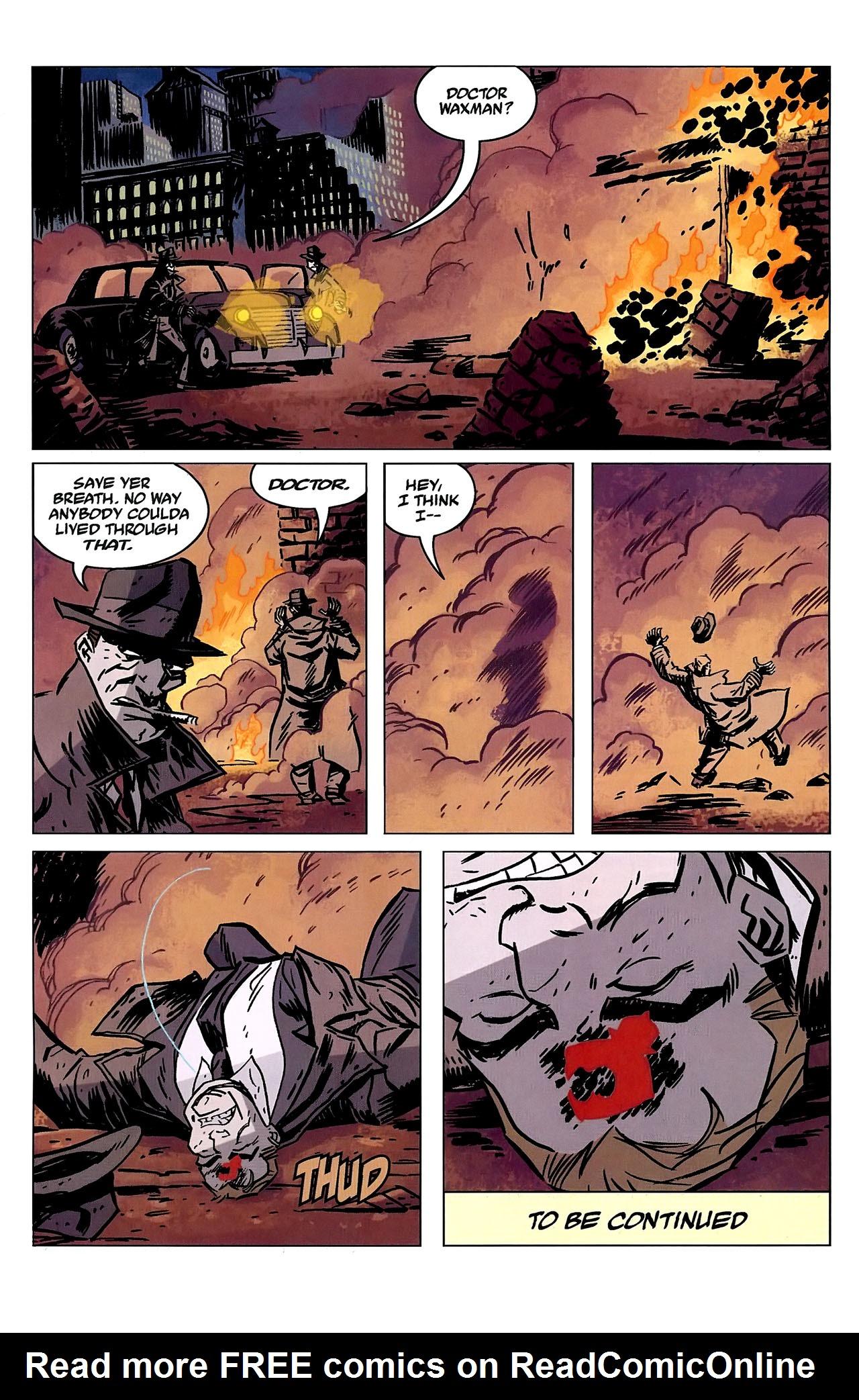 Read online Lobster Johnson: The Iron Prometheus comic -  Issue #2 - 24