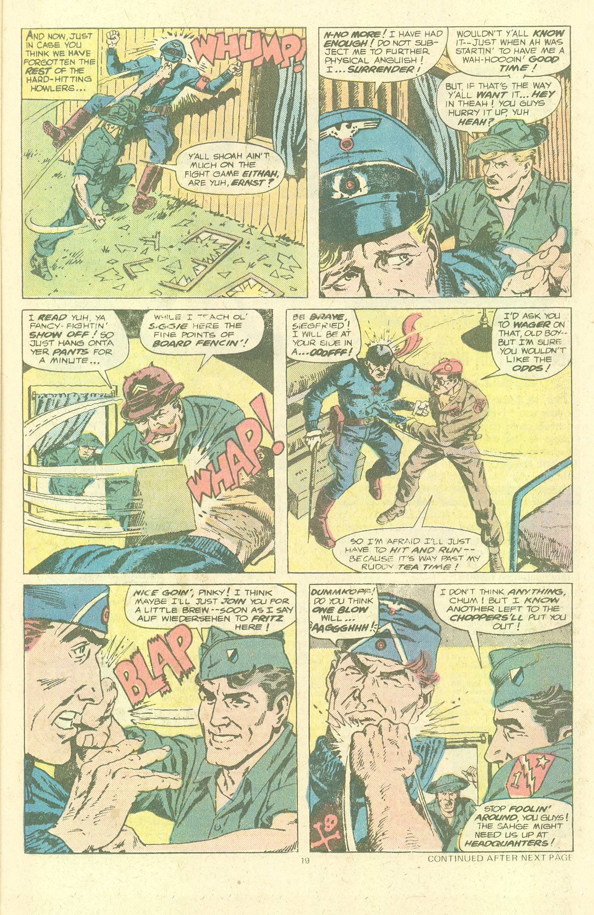 Read online Sgt. Fury comic -  Issue #143 - 21