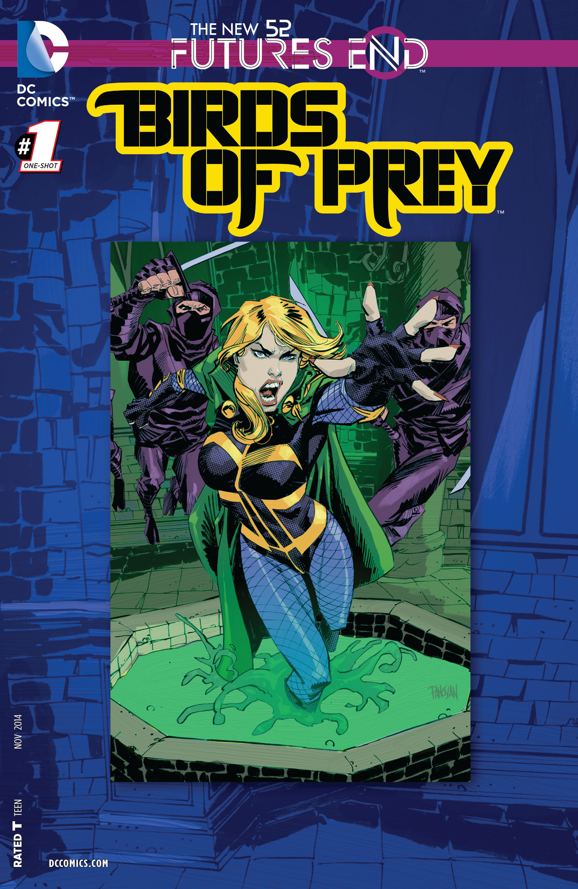 Birds of Prey: Futures End Full Page 1