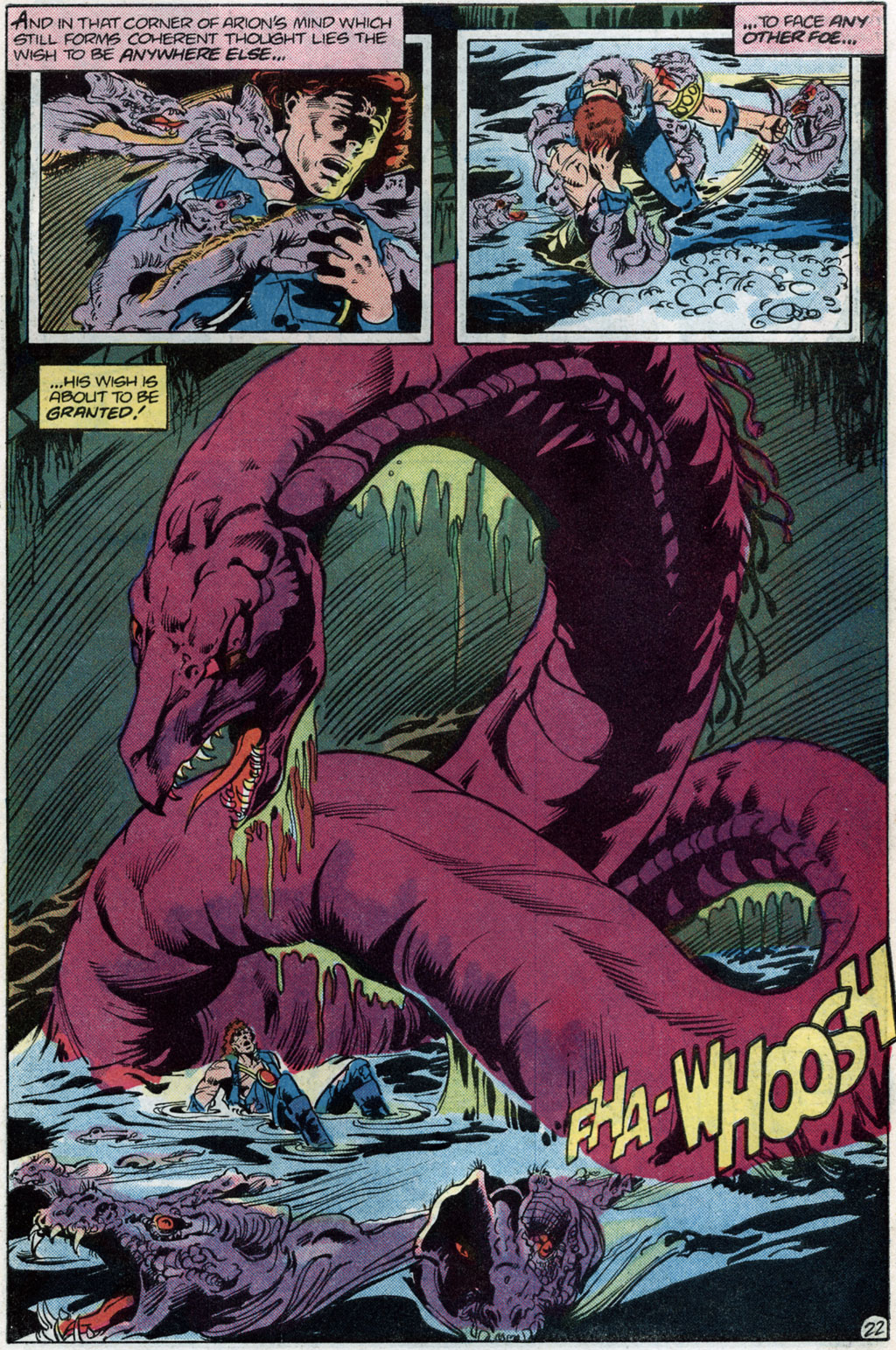 Read online Arion, Lord of Atlantis comic -  Issue #14 - 24