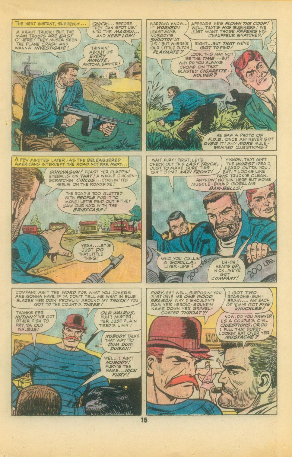 Read online Sgt. Fury comic -  Issue #136 - 17