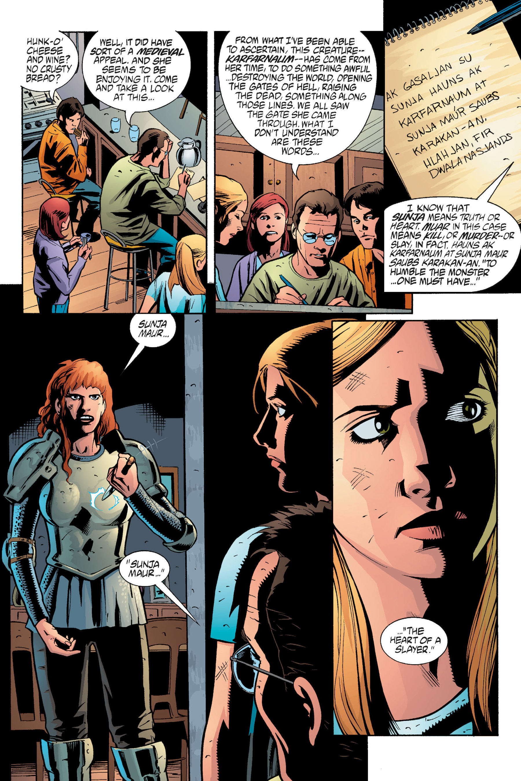Read online Buffy the Vampire Slayer: Omnibus comic -  Issue # TPB 5 - 259