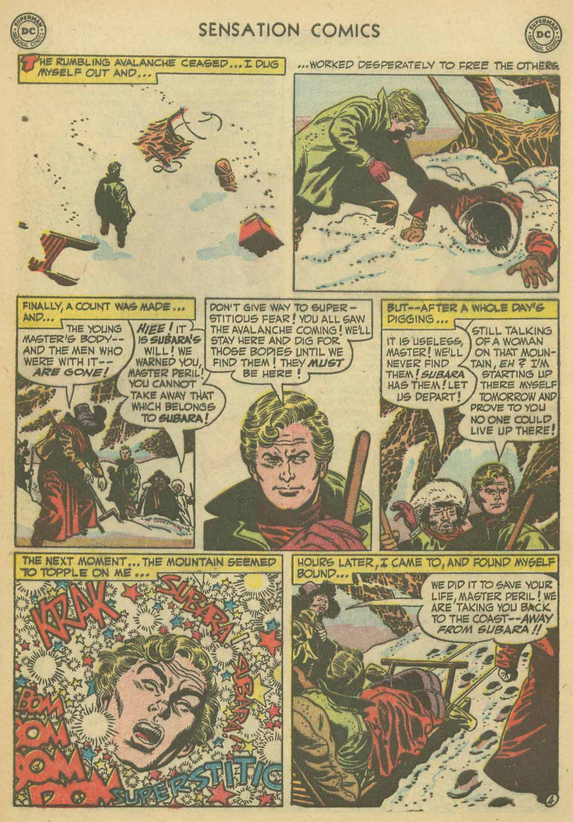 Read online Sensation (Mystery) Comics comic -  Issue #107 - 28