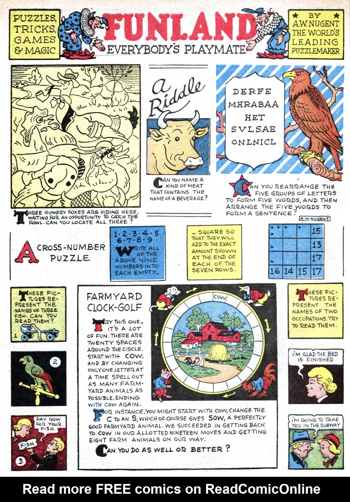 Read online Famous Funnies comic -  Issue #80 - 64