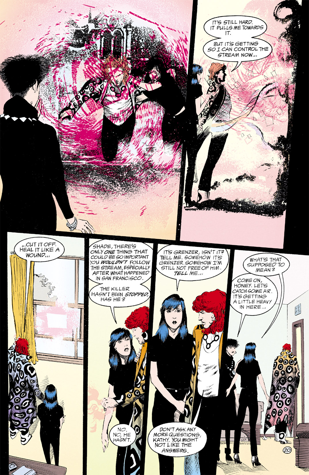 Read online Shade, the Changing Man comic -  Issue #12 - 21