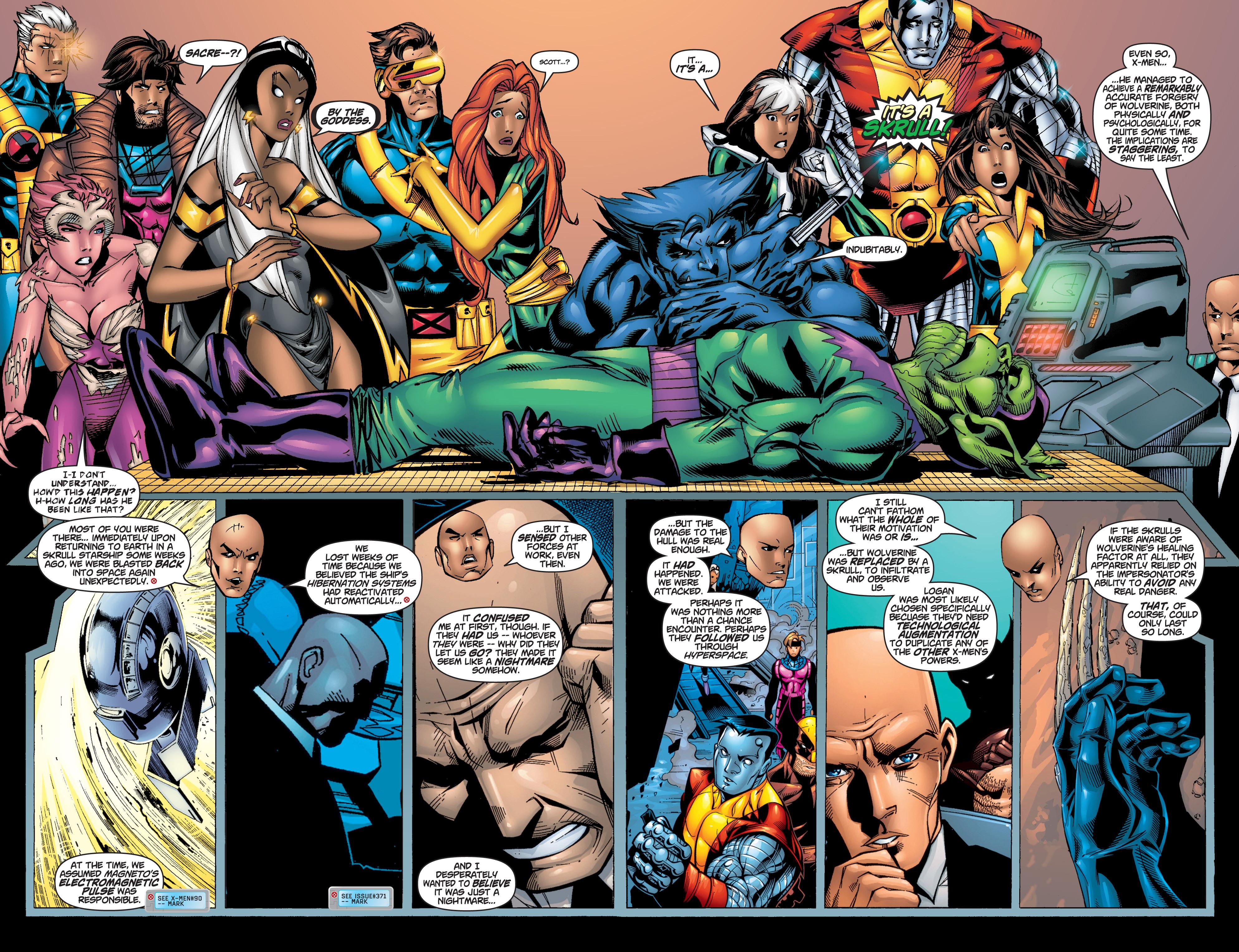 Read online Uncanny X-Men (1963) comic -  Issue #375 - 31