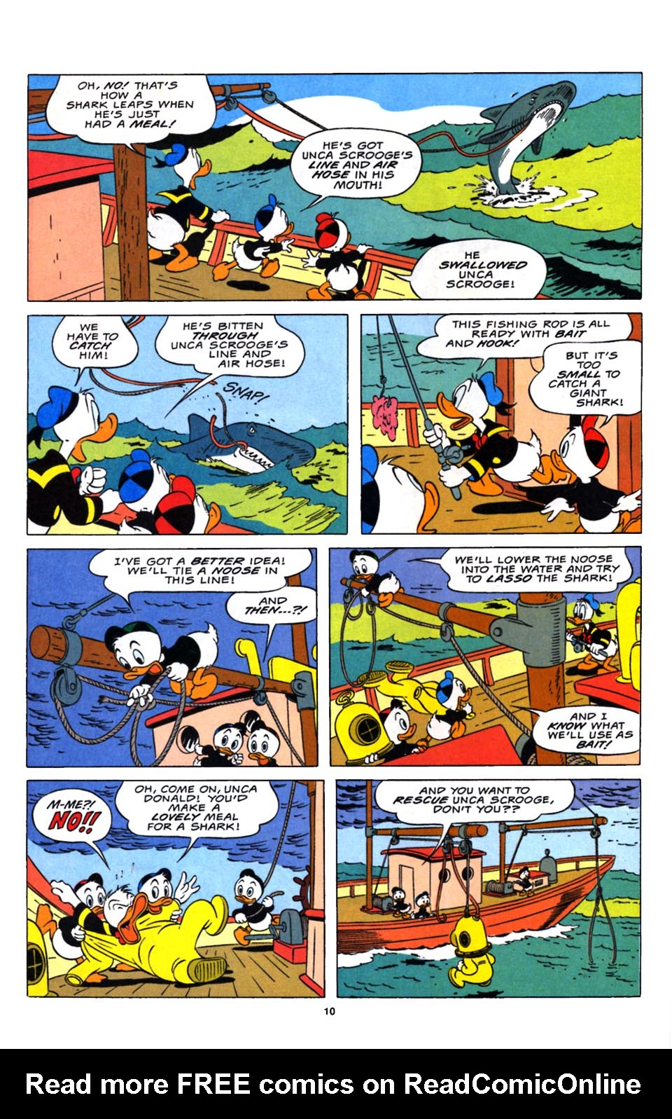 Read online Uncle Scrooge (1953) comic -  Issue #248 - 11