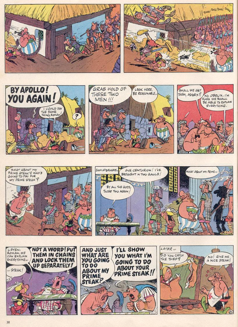 Read online Asterix comic -  Issue #2 - 34