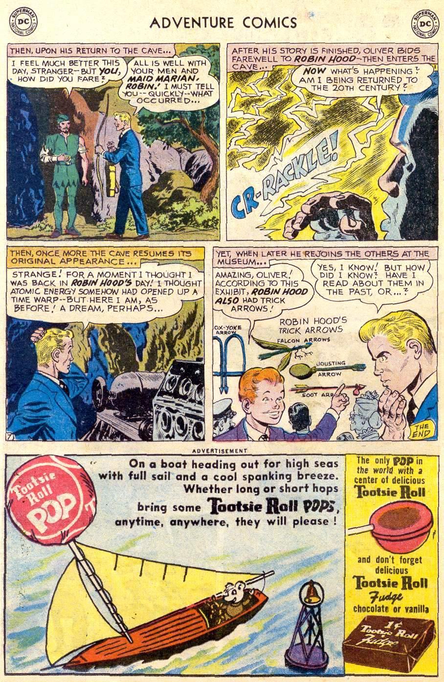 Read online Adventure Comics (1938) comic -  Issue #264 - 32