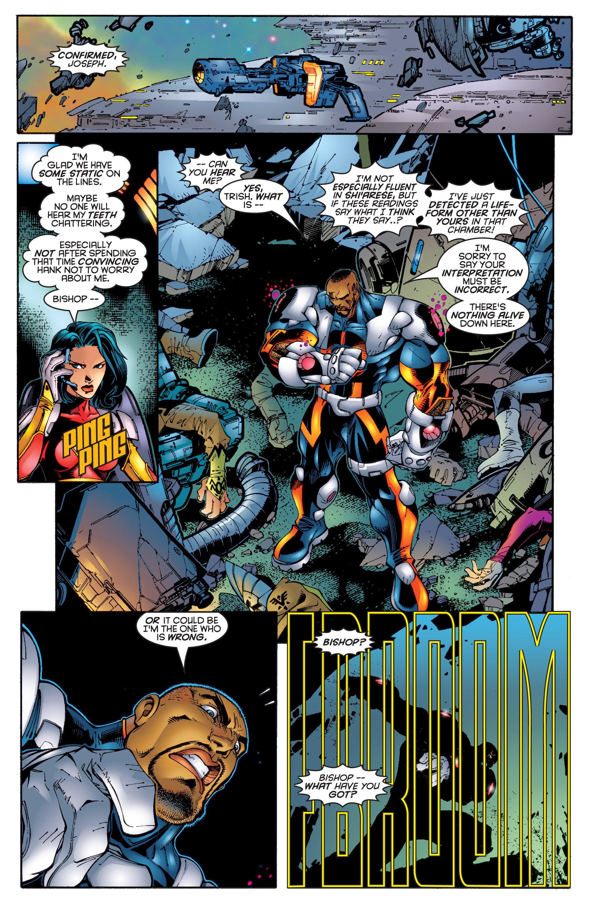 Read online Uncanny X-Men (1963) comic -  Issue #342 - 21