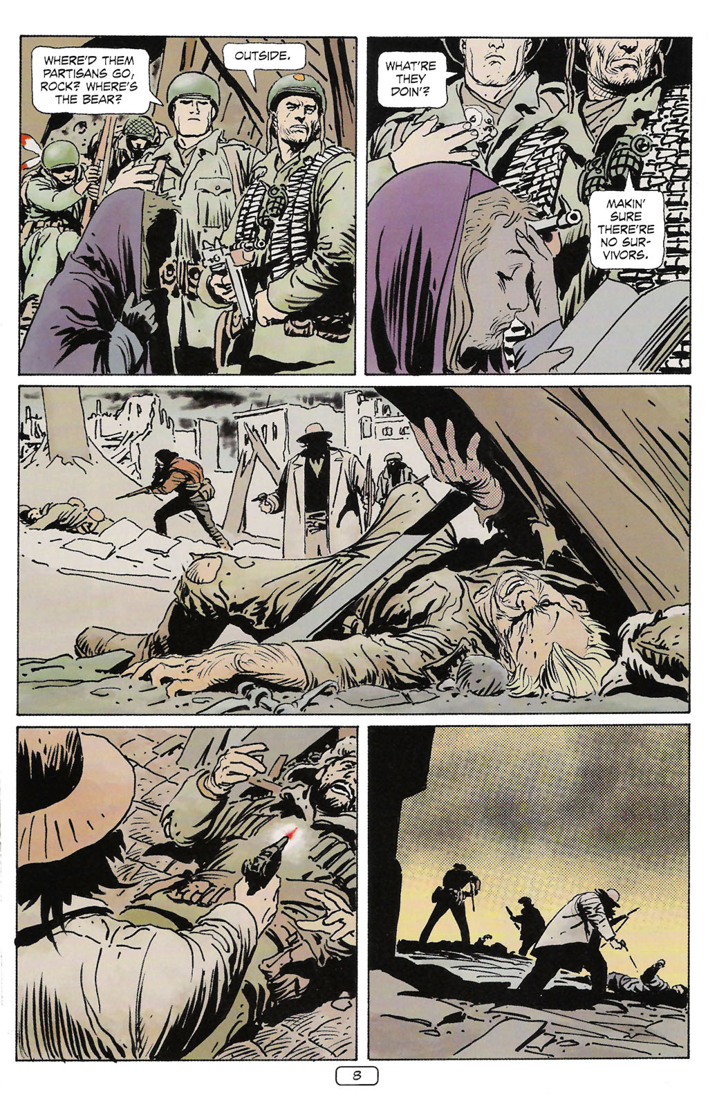 Read online Sgt. Rock: The Prophecy comic -  Issue #2 - 9