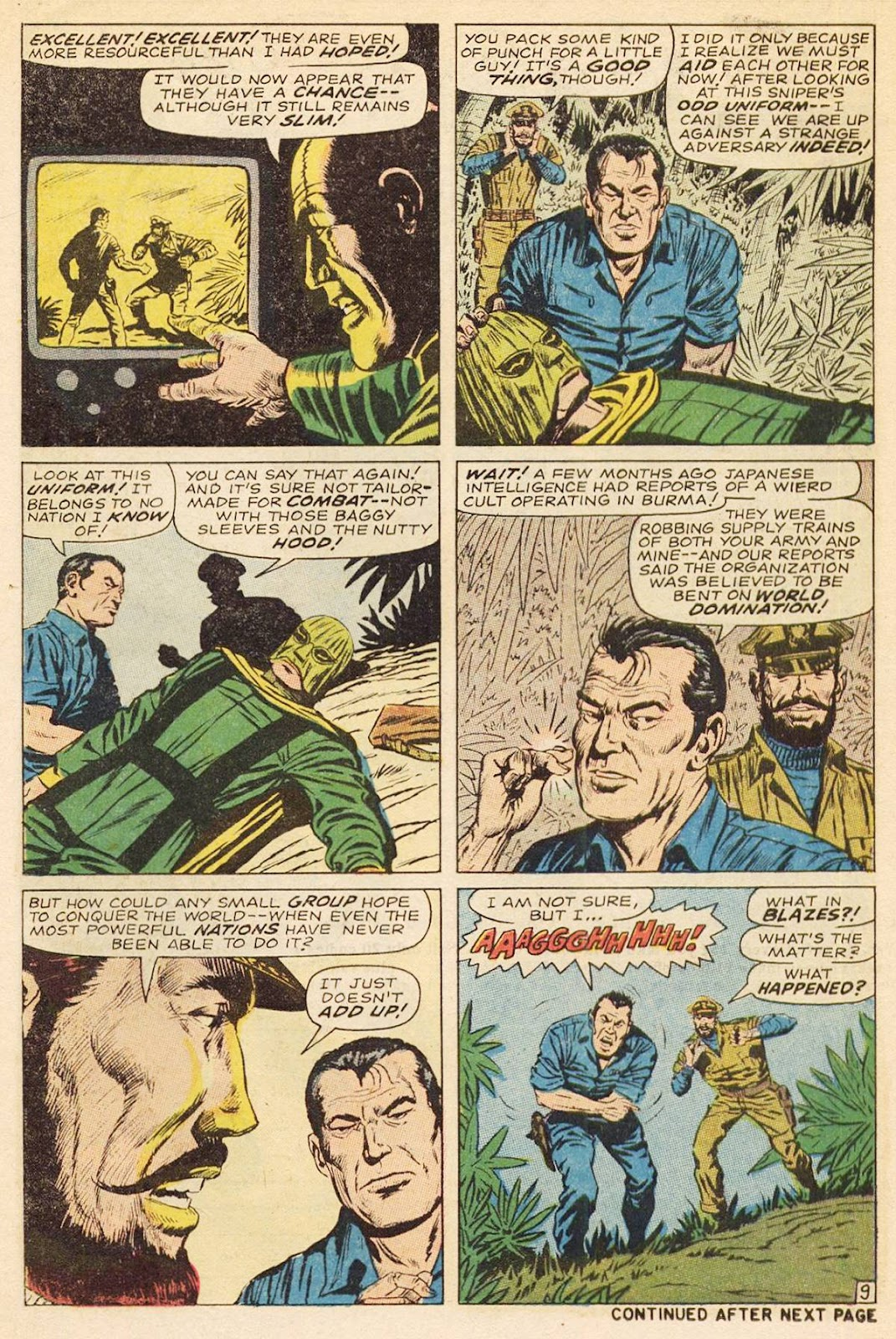 Captain Savage and his Leatherneck Raiders issue 3 - Page 14