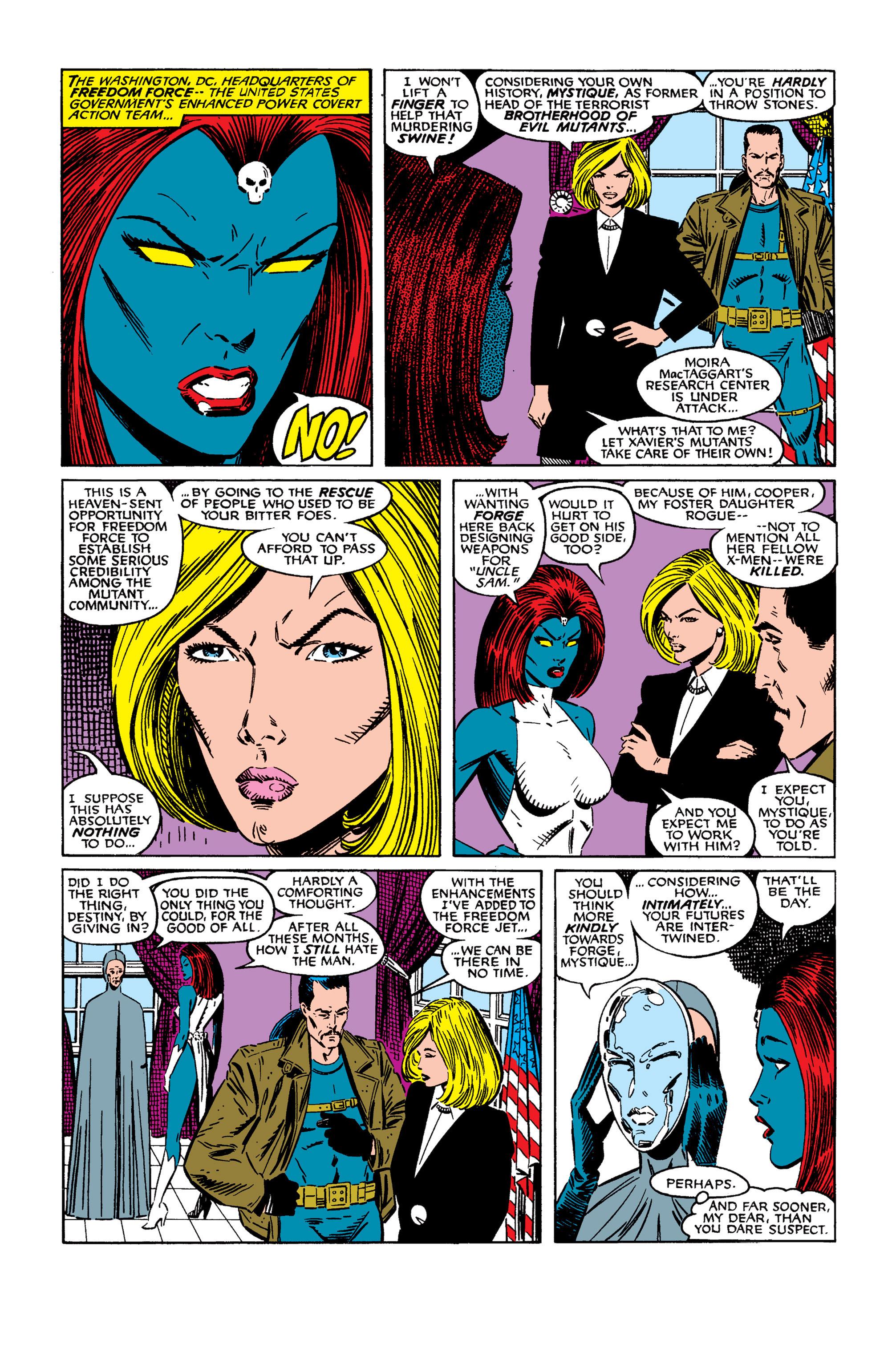 Read online Uncanny X-Men (1963) comic -  Issue #254 - 23