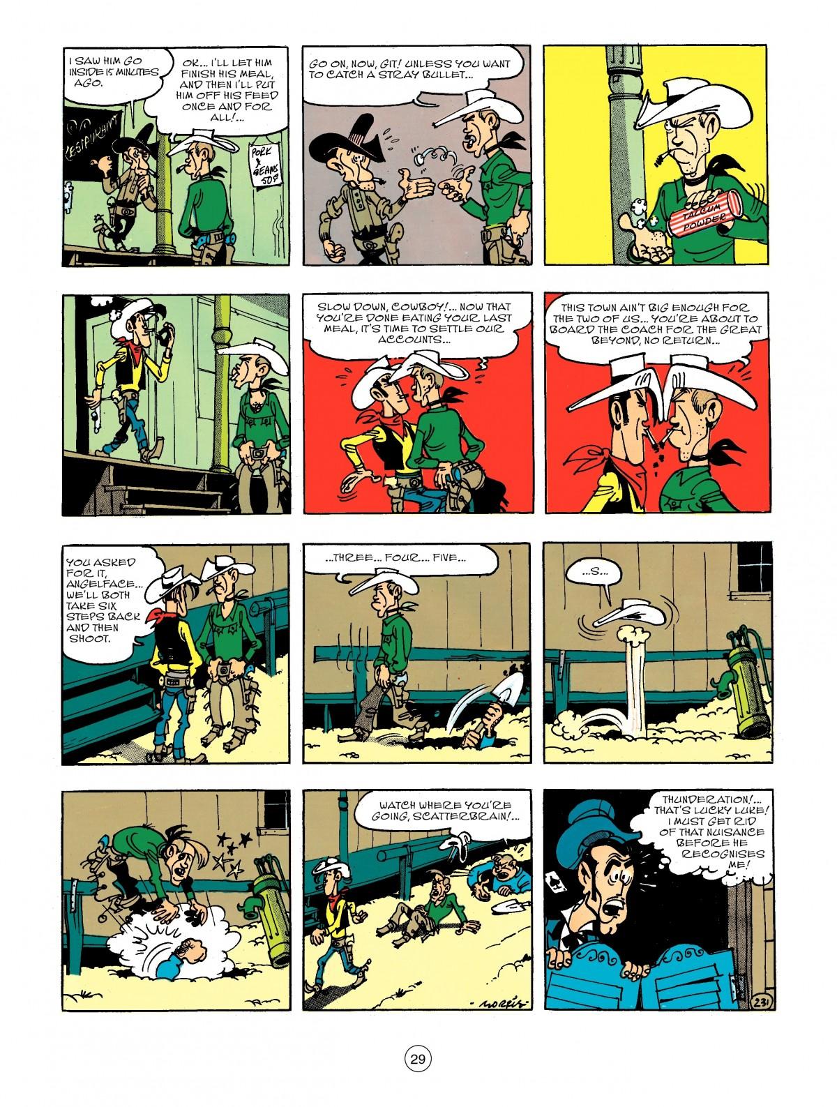 Read online A Lucky Luke Adventure comic -  Issue #44 - 29