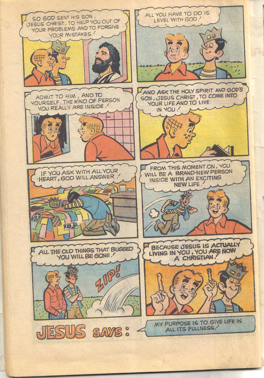 Archie's Love Scene issue Full - Page 34