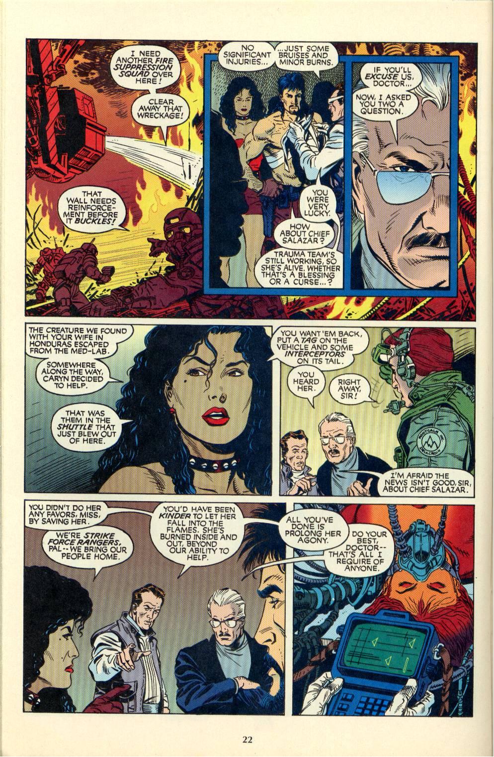 Read online Aliens/Predator: The Deadliest of the Species comic -  Issue #4 - 23
