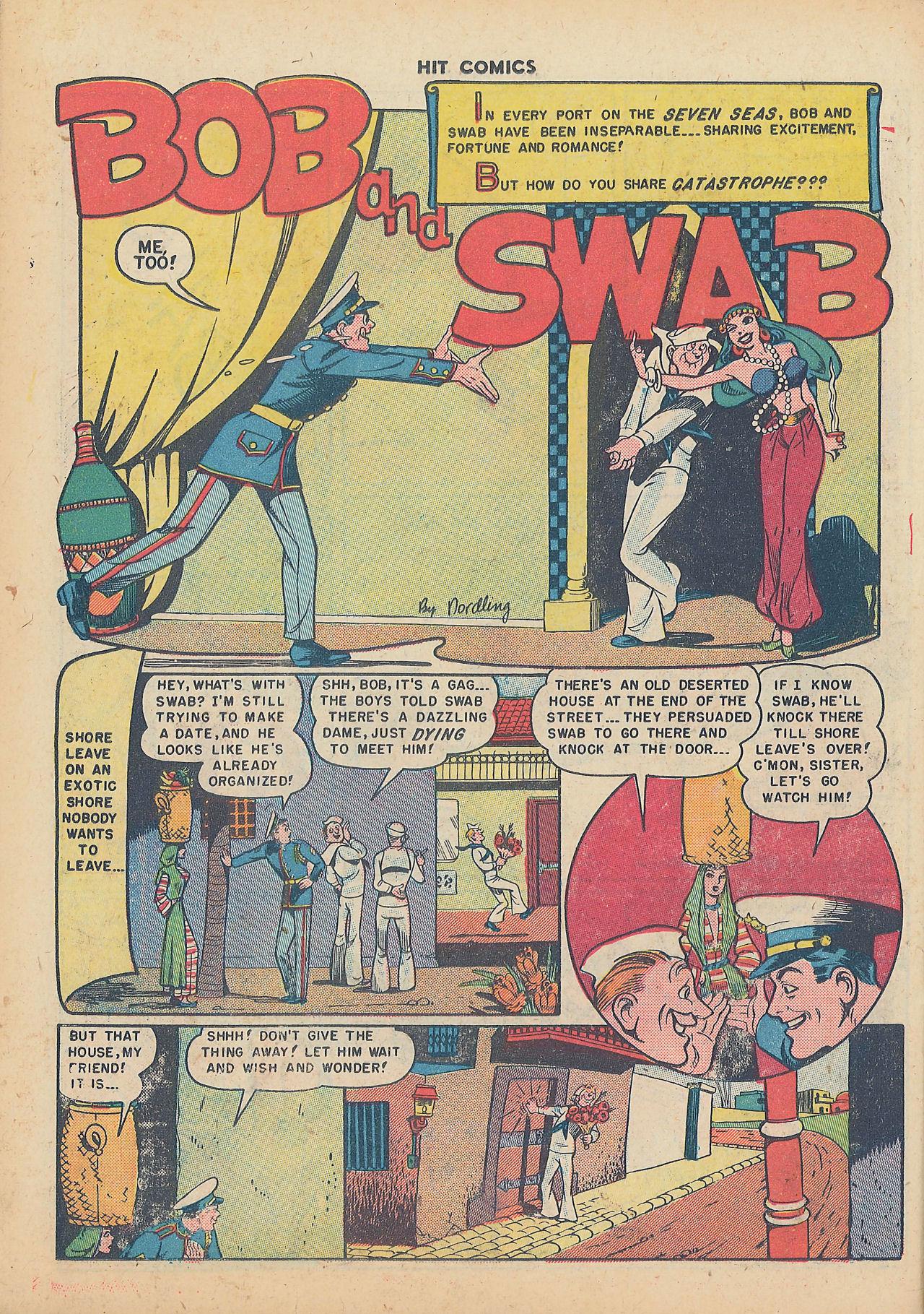 Read online Hit Comics comic -  Issue #64 - 22
