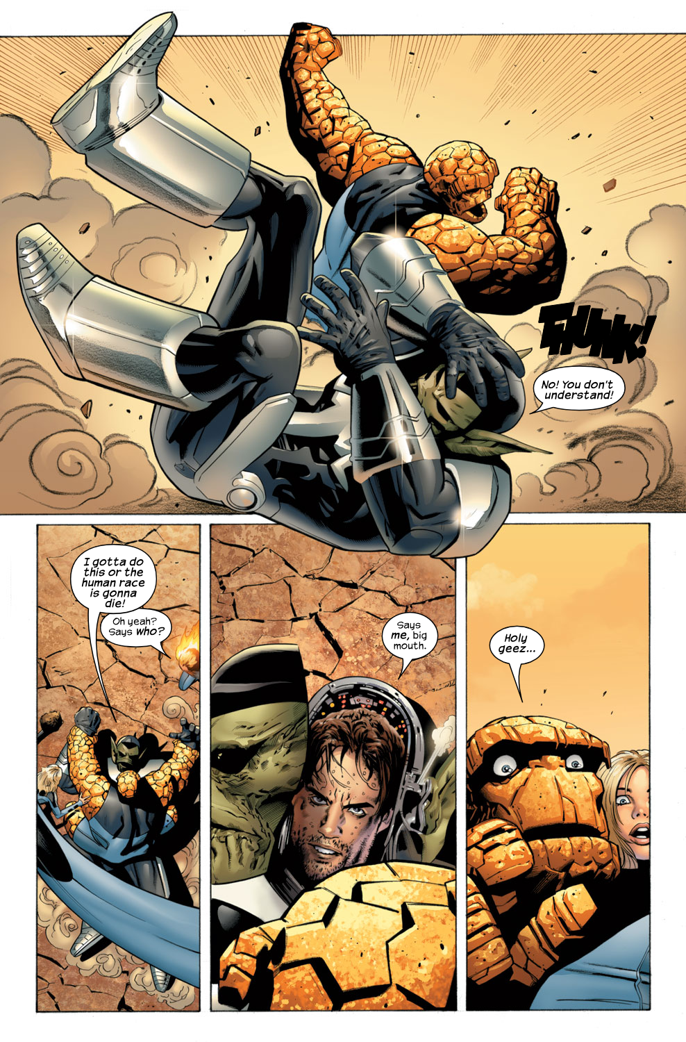 Read online Ultimate Fantastic Four (2004) comic -  Issue #29 - 19