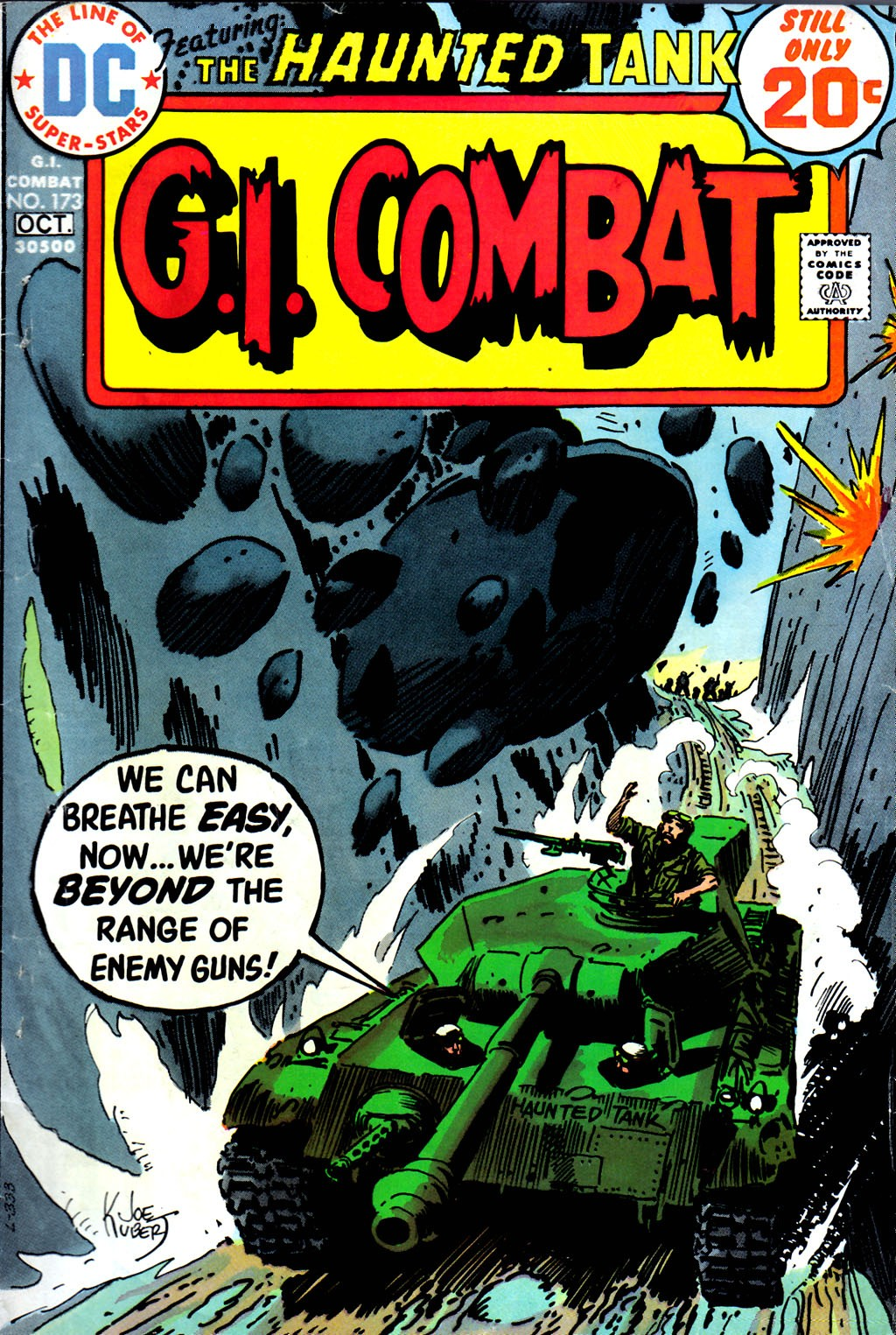 G.I. Combat (1952) issue 173 - Page 1