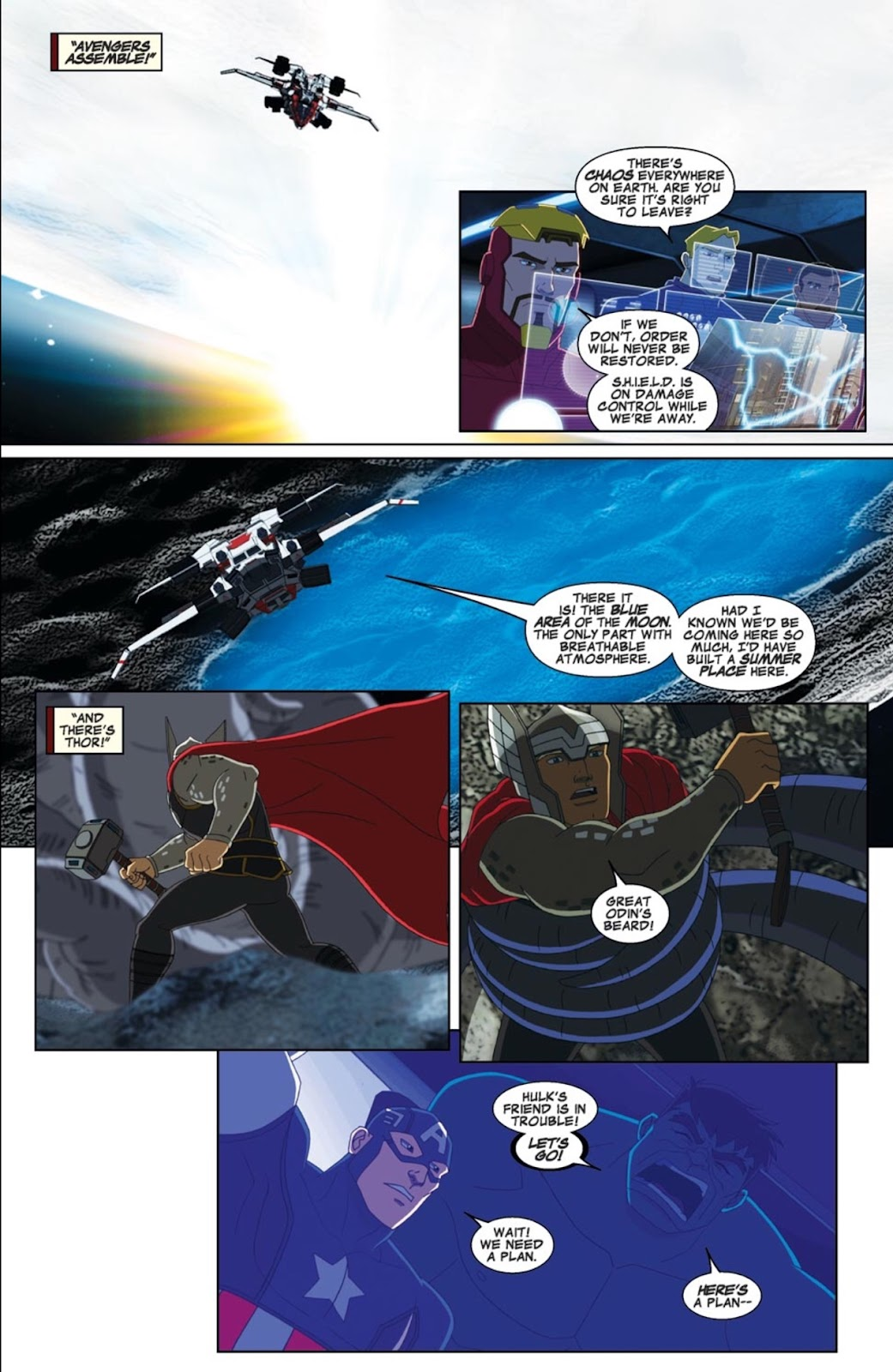 Read online Marvel Universe Avengers Assemble Season 2 comic -  Issue #3 - 13