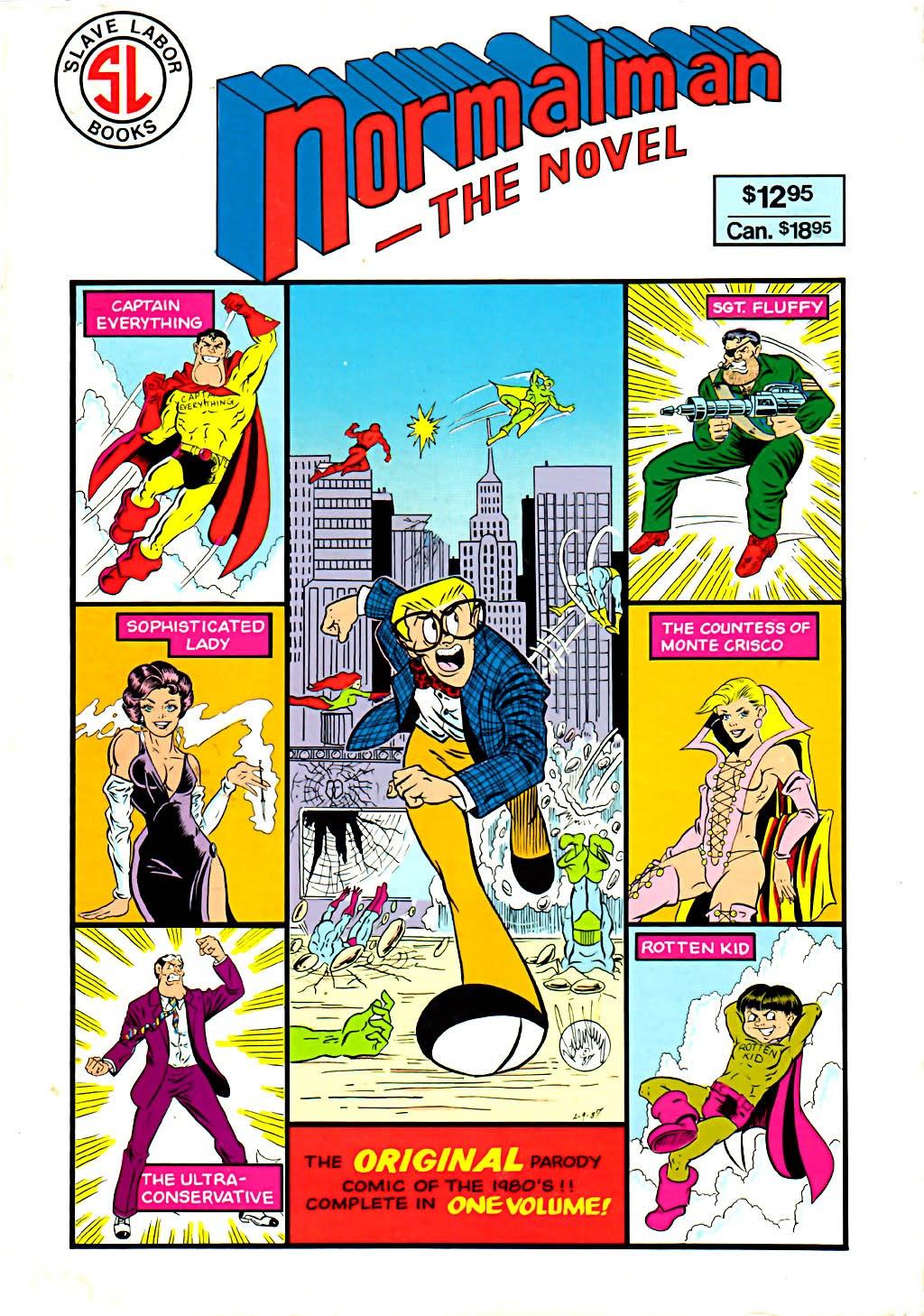 Read online Normalman - The Novel comic -  Issue # TPB (Part 1) - 1