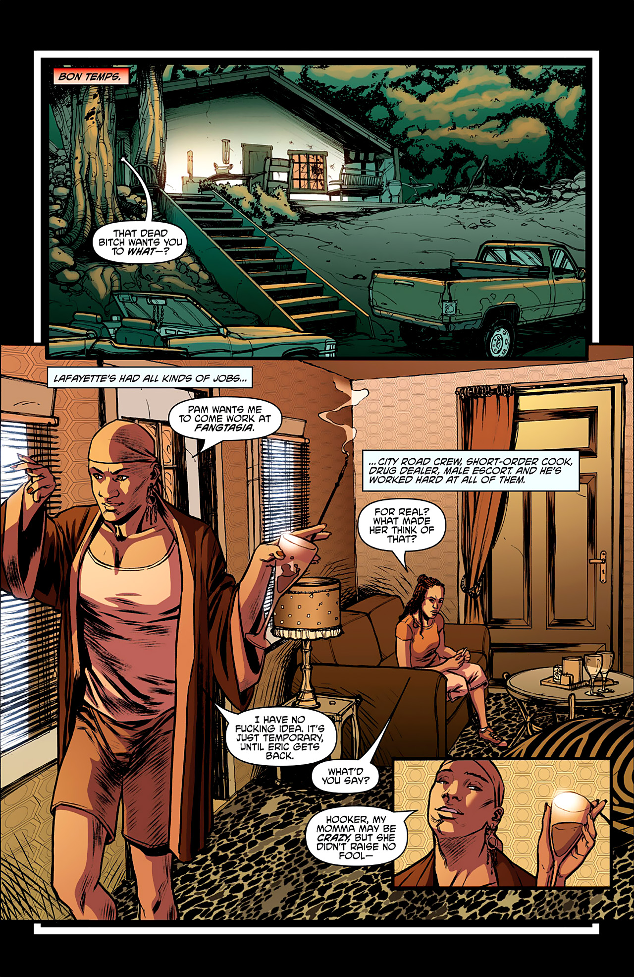 Read online True Blood: French Quarter comic -  Issue #2 - 9