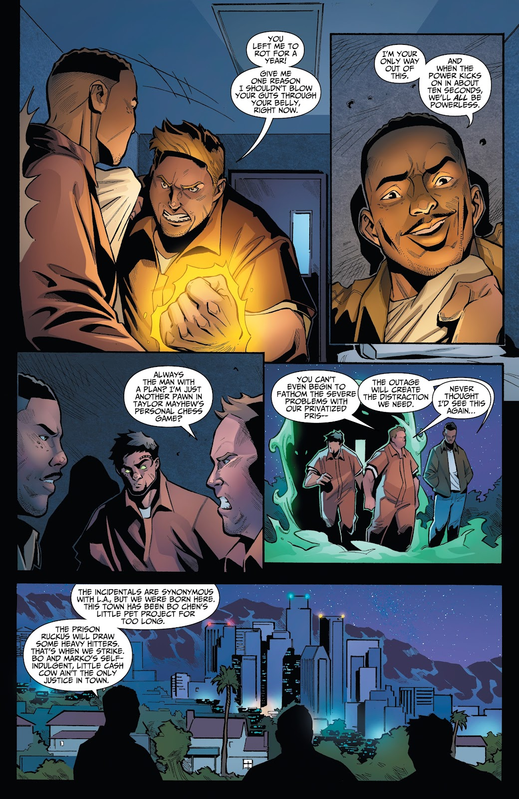 Read online Incidentals comic -  Issue #15 - 4
