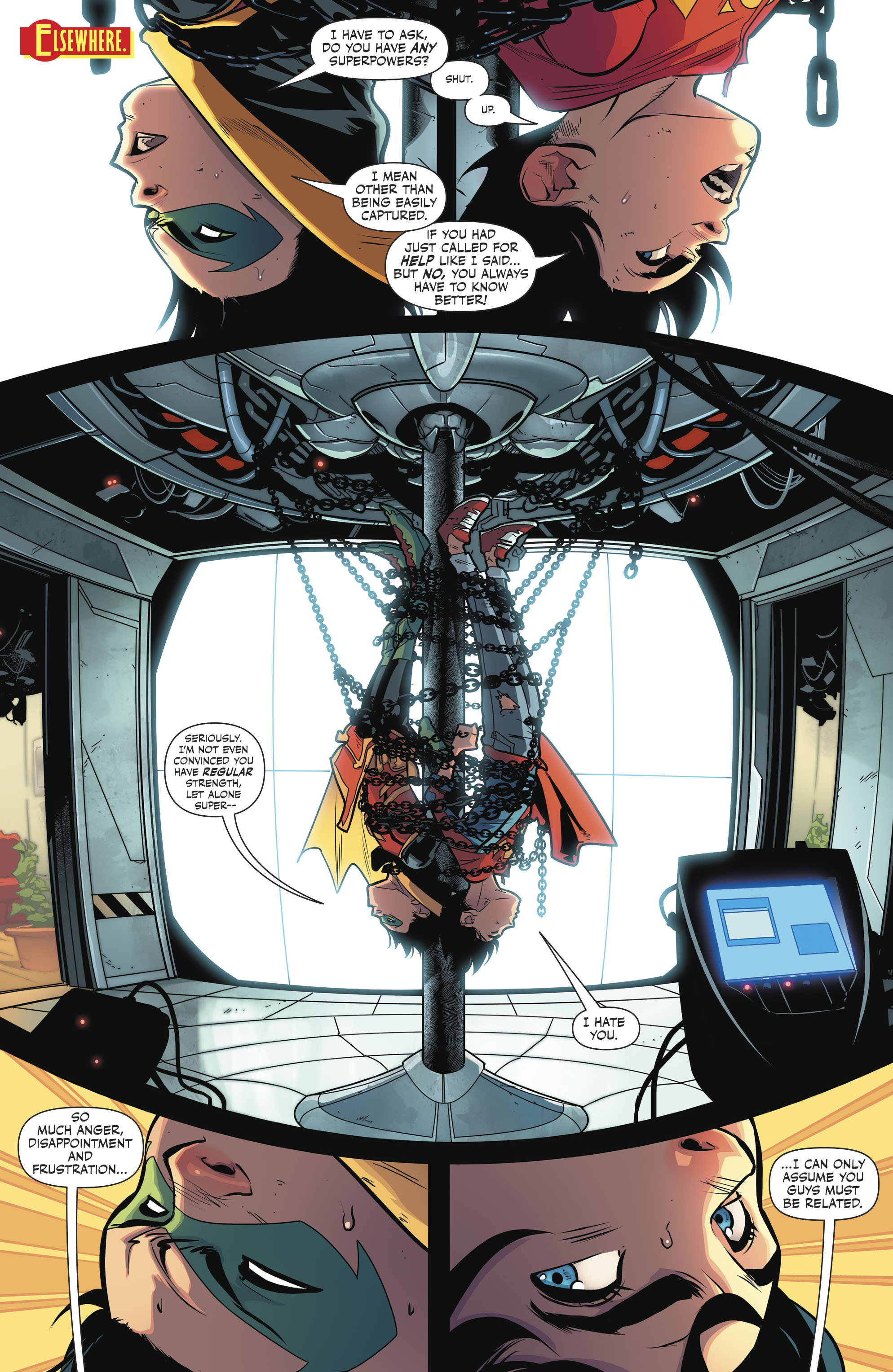 Read online Super Sons comic -  Issue #4 - 4