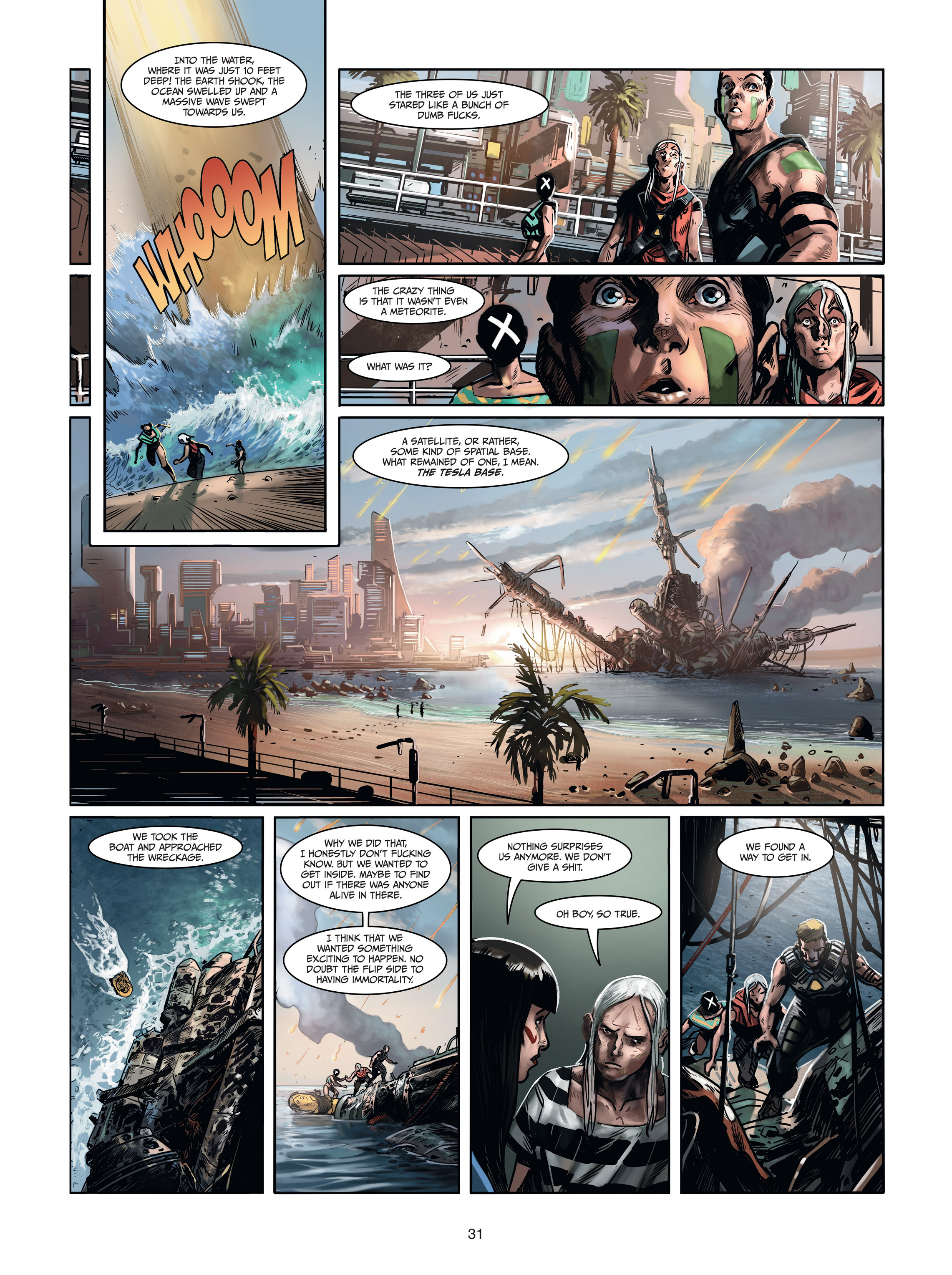 Read online Androïds comic -  Issue #1 - 29