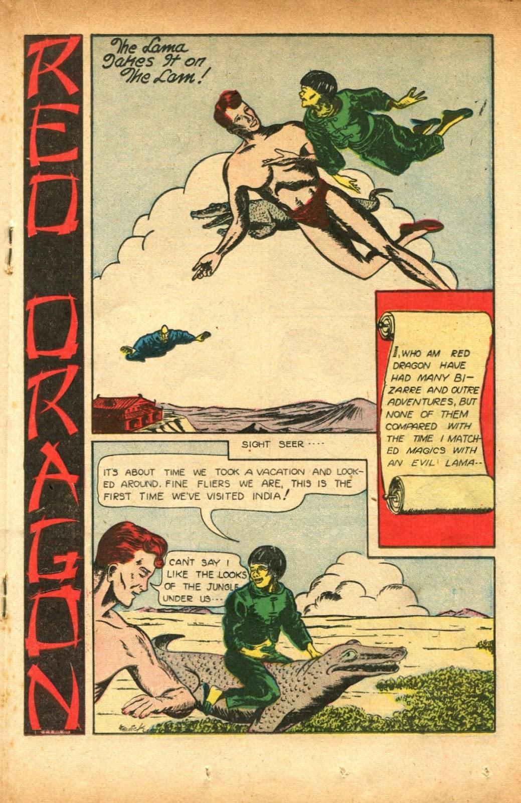 Read online Super-Magician Comics comic -  Issue #51 - 27
