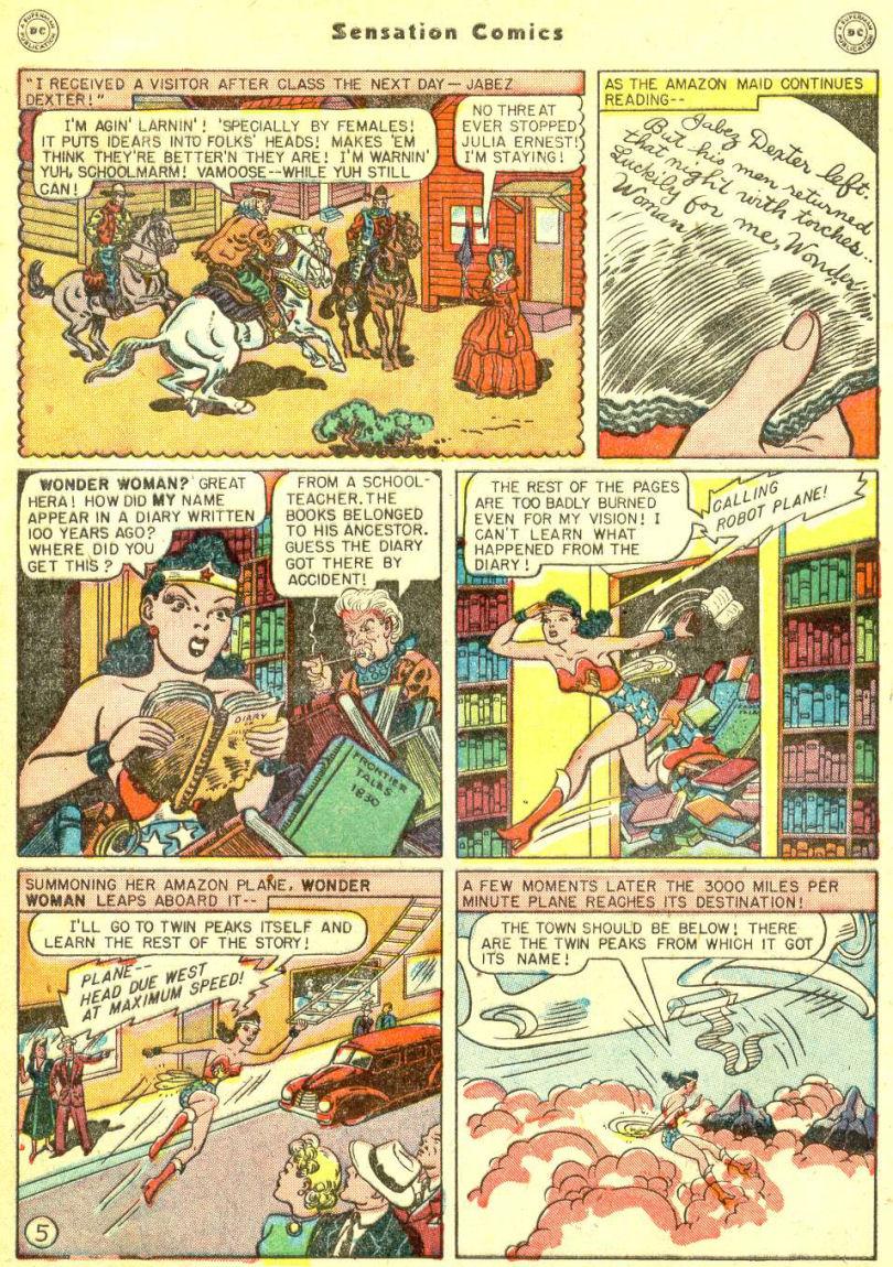Read online Sensation (Mystery) Comics comic -  Issue #87 - 7