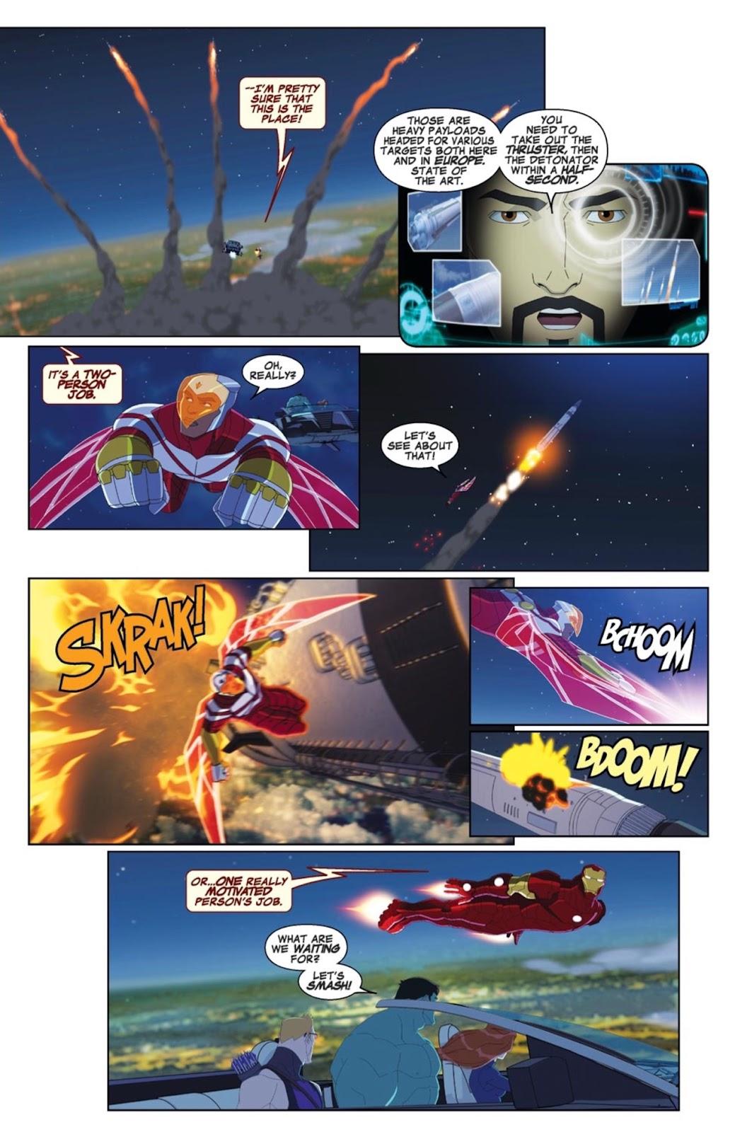 Read online Marvel Universe Avengers Assemble Season 2 comic -  Issue #4 - 17