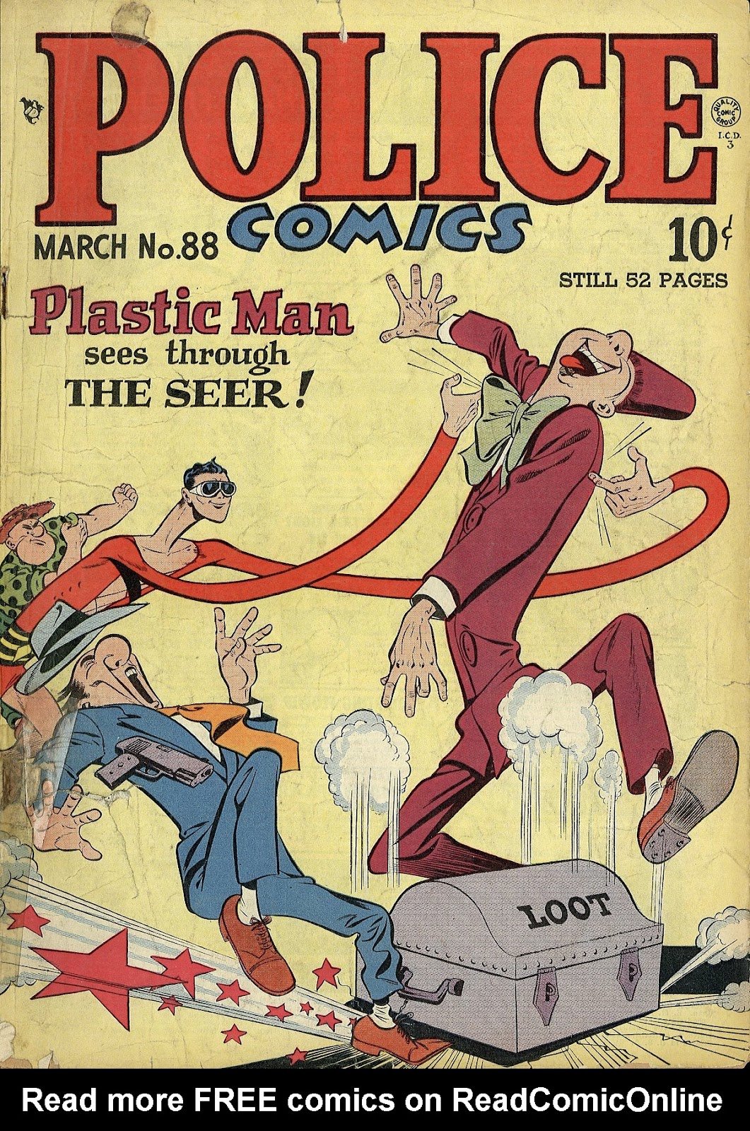 Police Comics 88 Page 1