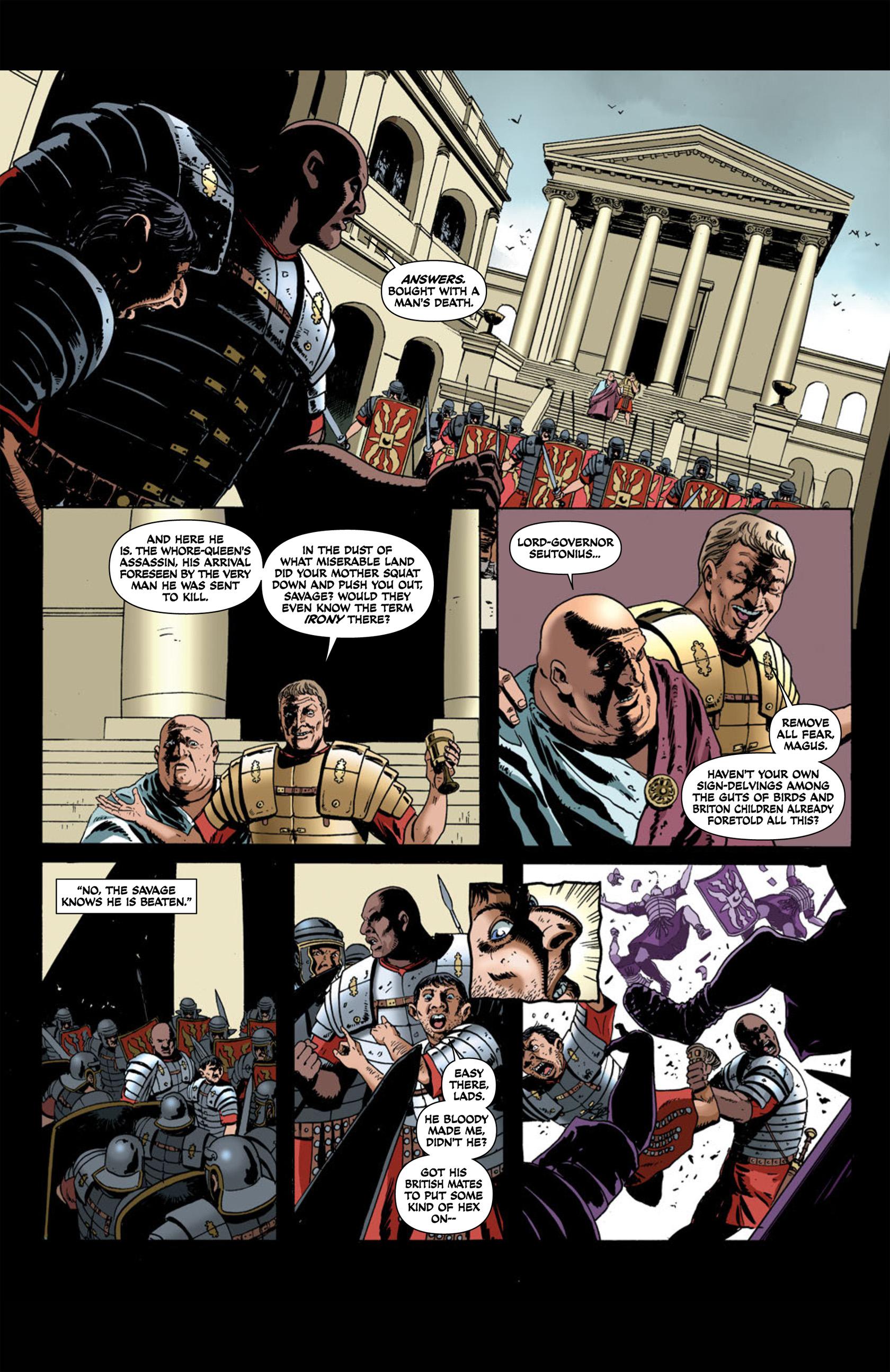 Read online Aquila comic -  Issue #1 - 32