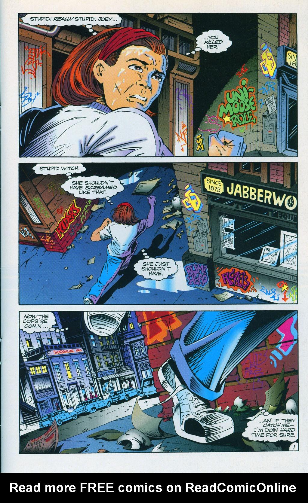 Read online ShadowHawk comic -  Issue #7 - 4