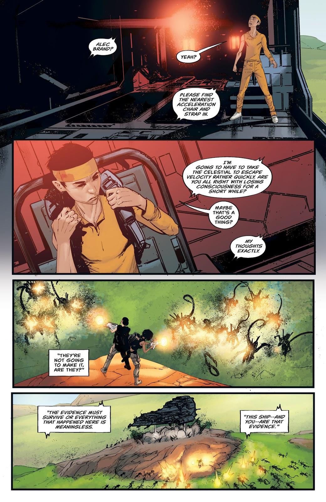 Read online Aliens: Resistance comic -  Issue #4 - 18