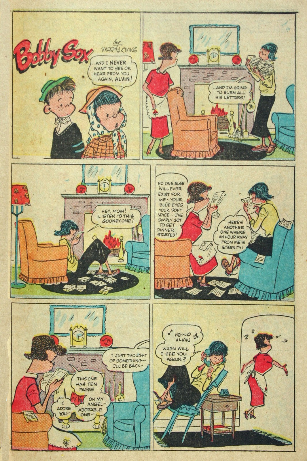 Read online Famous Funnies comic -  Issue #197 - 40