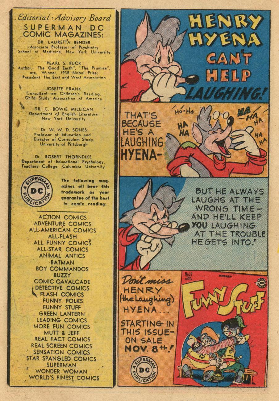 Read online Sensation (Mystery) Comics comic -  Issue #61 - 24