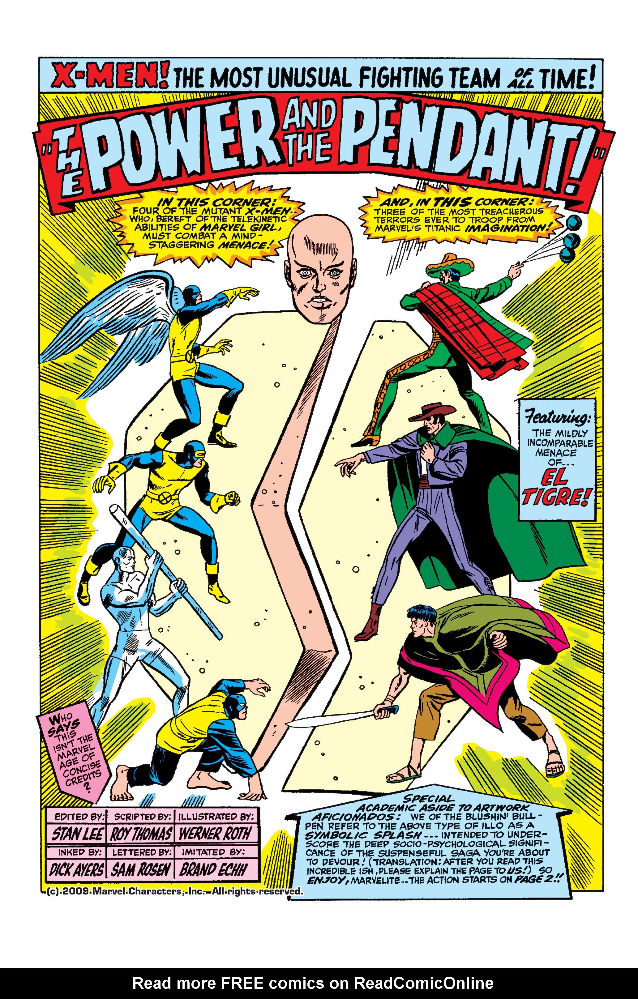 Uncanny X-Men (1963) 25 Page 1