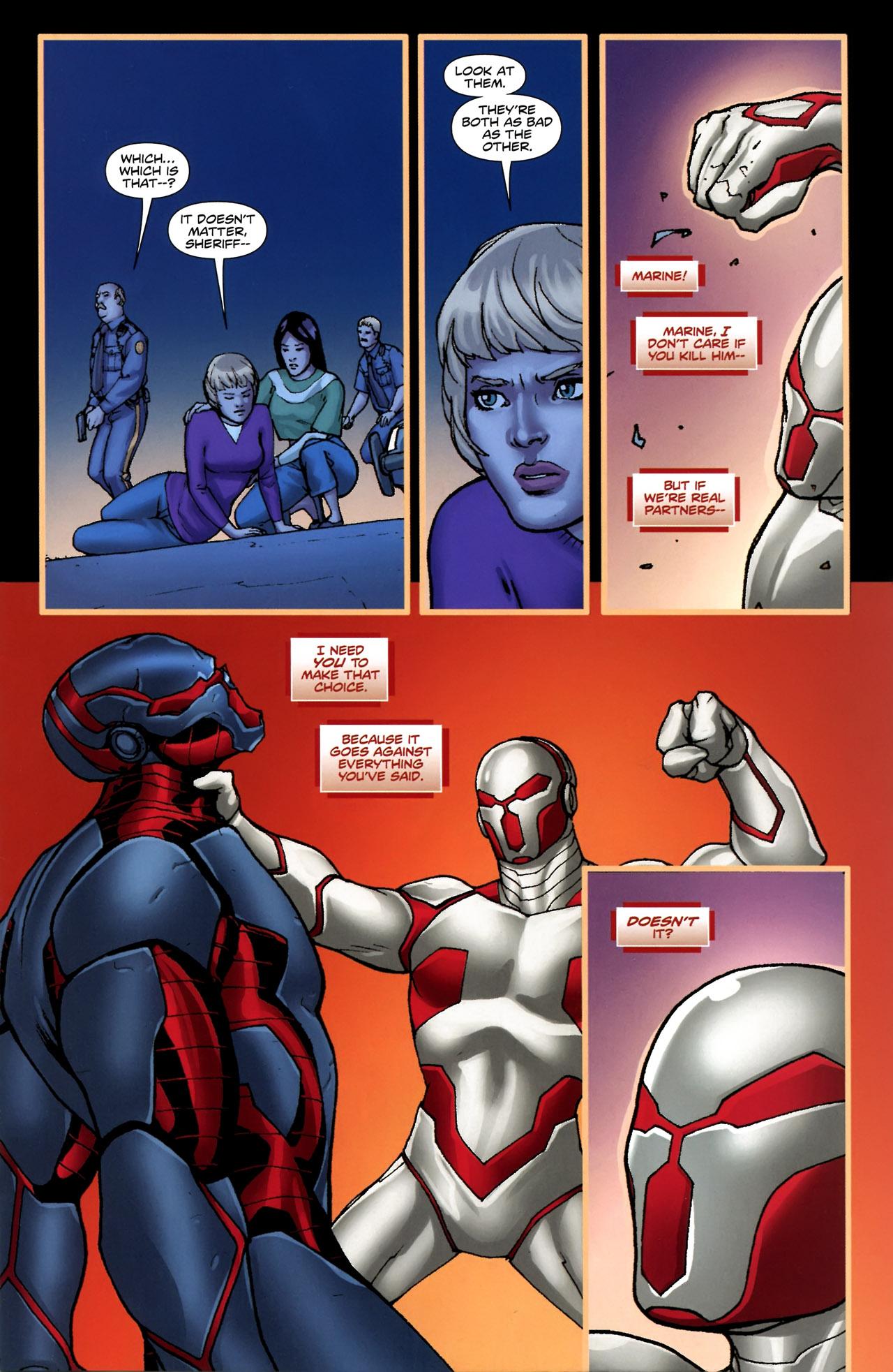 Read online Soldier Zero comic -  Issue #4 - 23