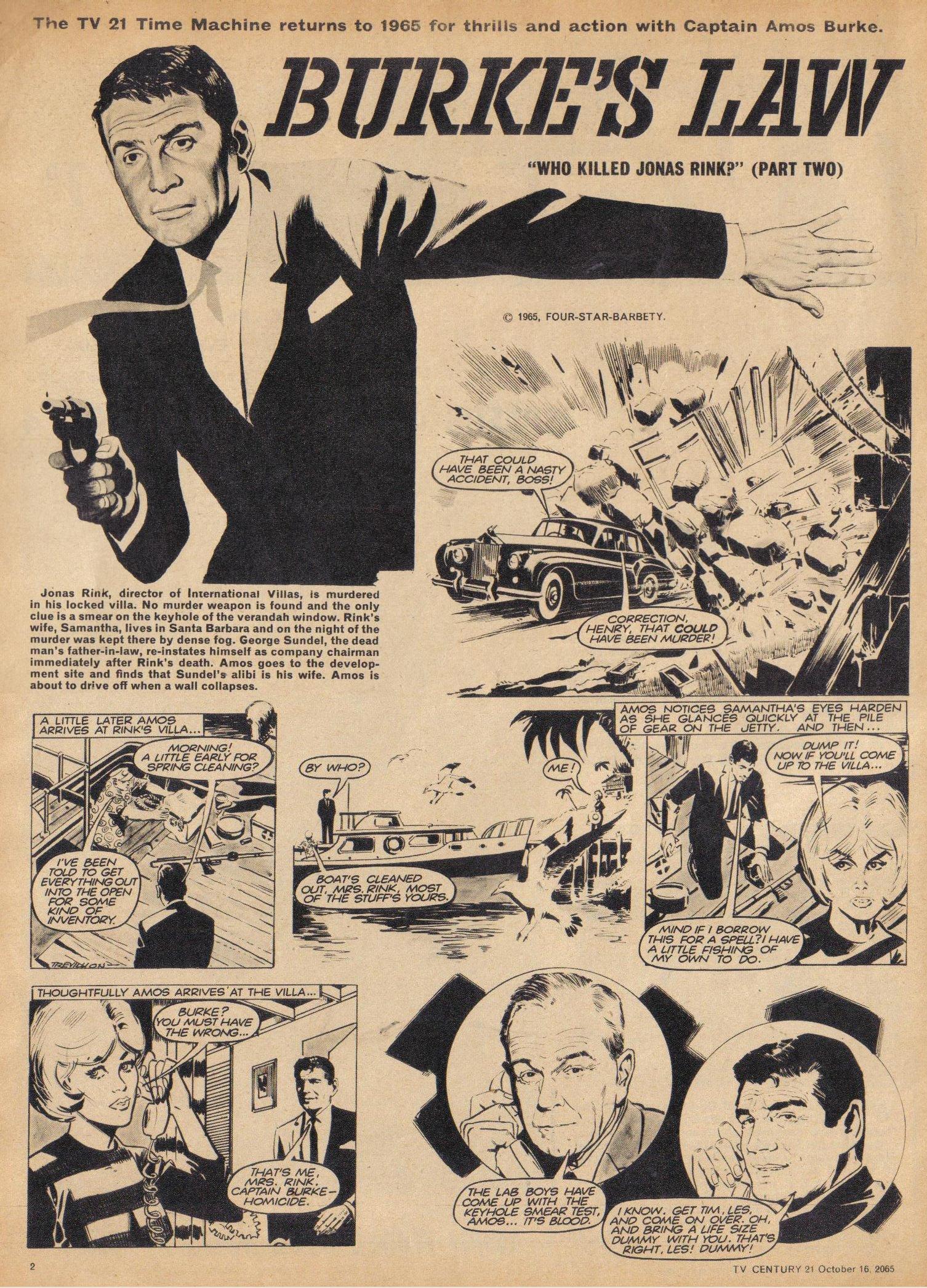 Read online TV Century 21 (TV 21) comic -  Issue #39 - 2