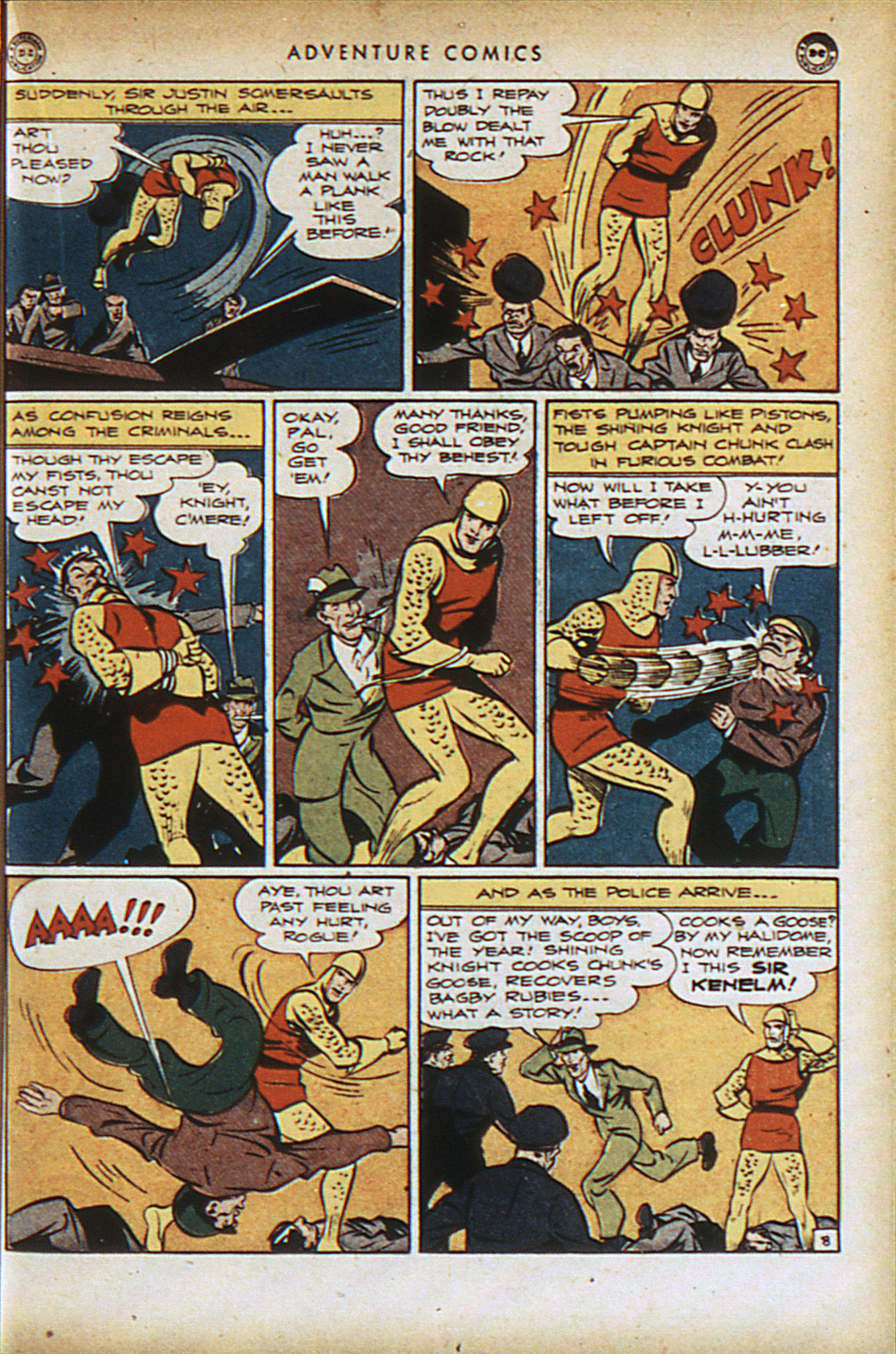 Read online Adventure Comics (1938) comic -  Issue #94 - 22